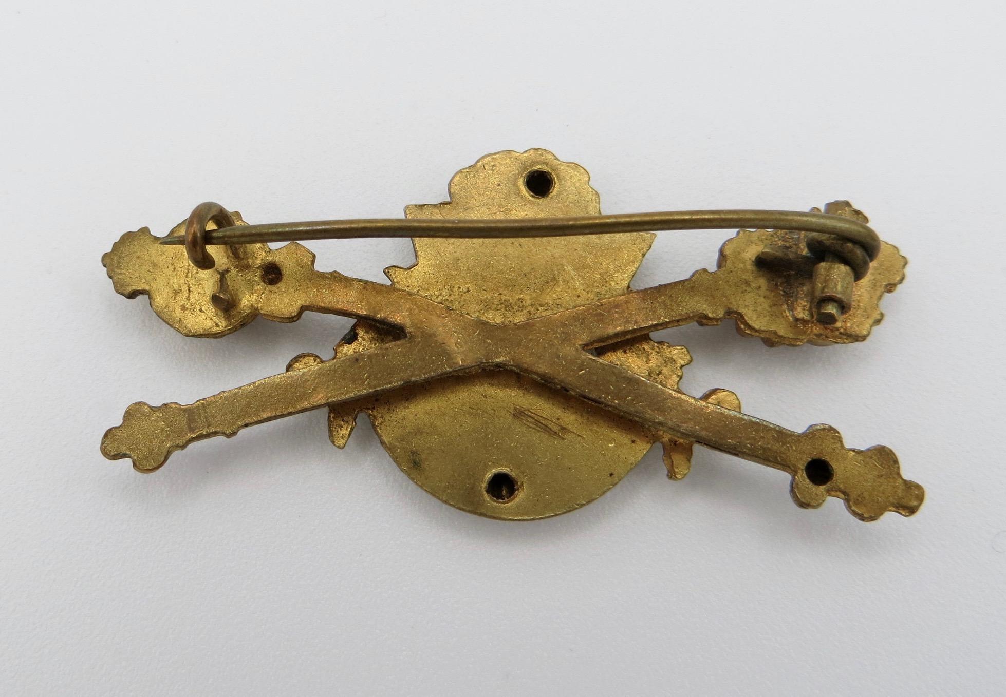 Victorian Jubilee Brooch