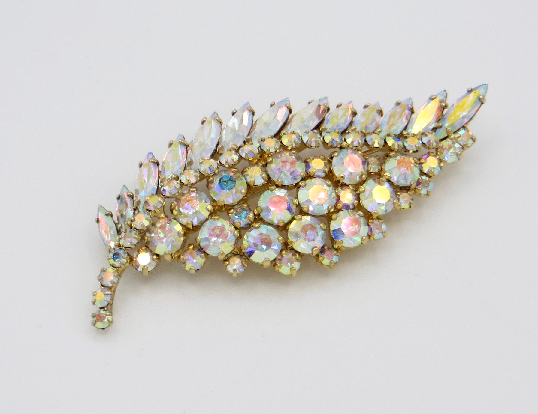 Sherman Leaf Brooch