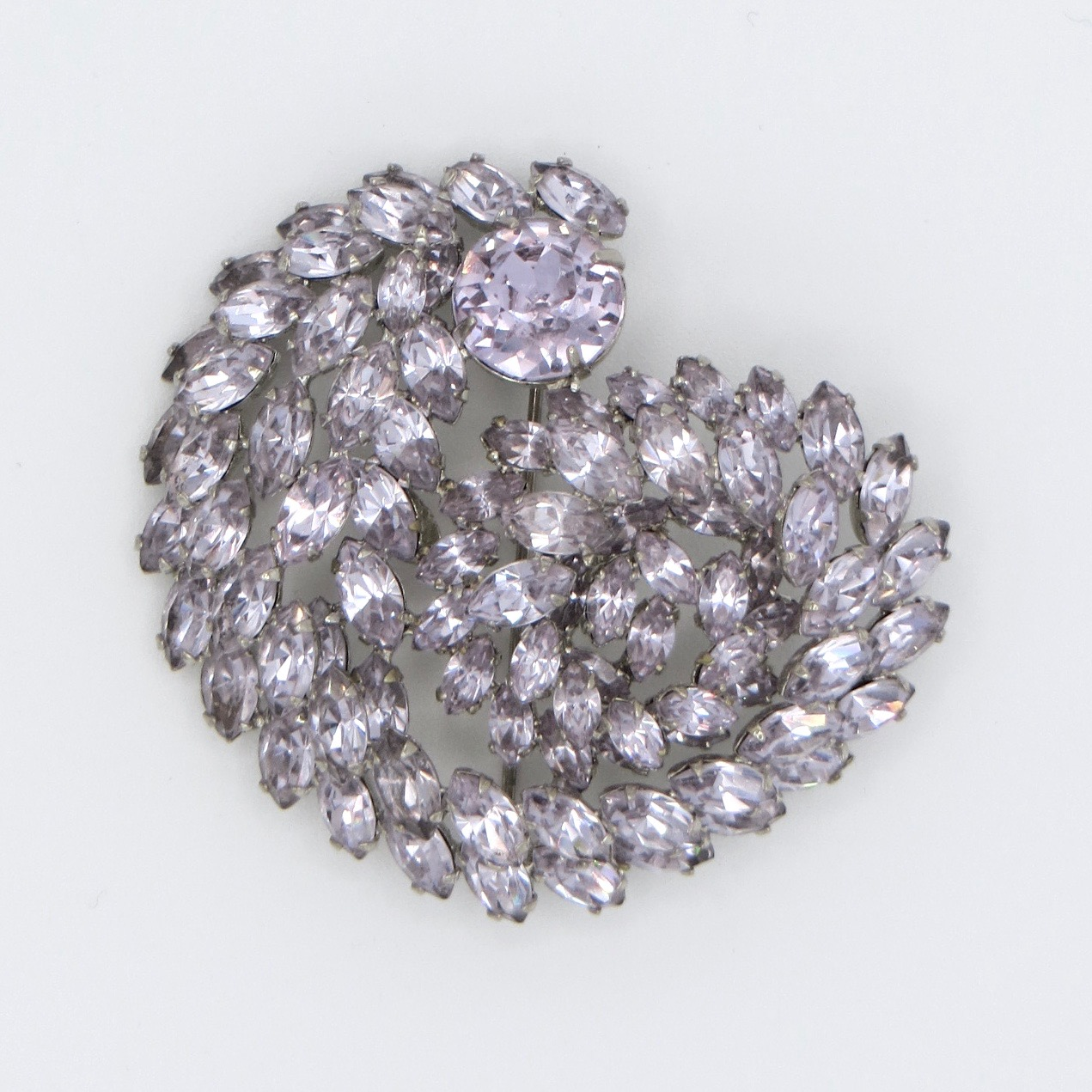 Sherman Spiral Brooch