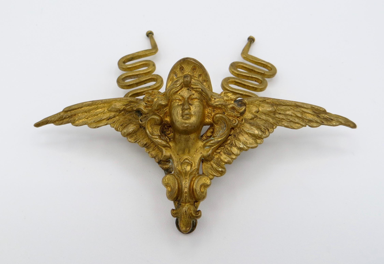 Art Nouveau Hair Clip