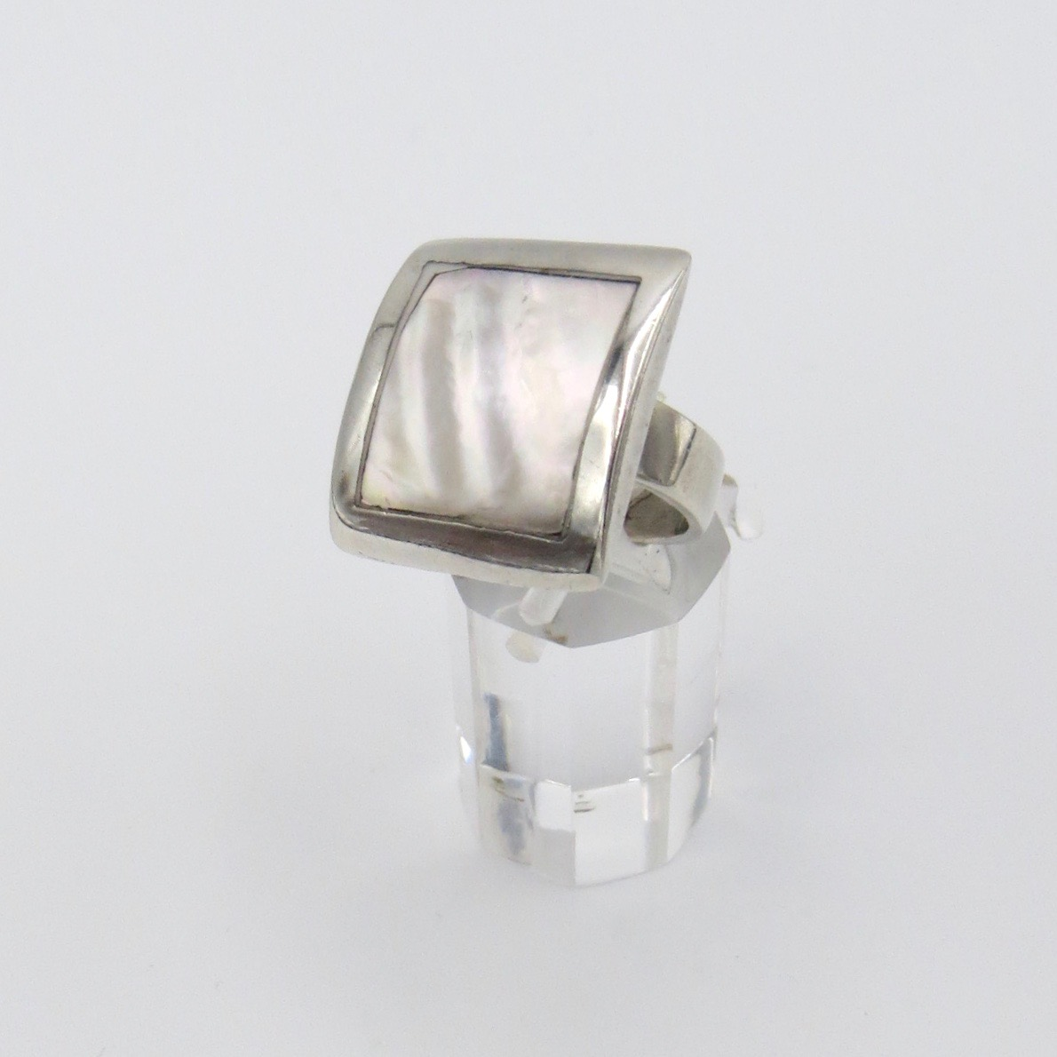 Silver and Mother of Pearl Ring