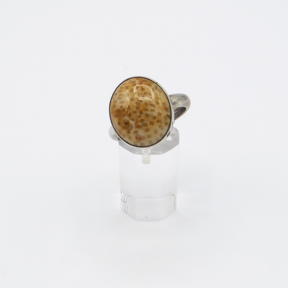 Silver and Shell Ring