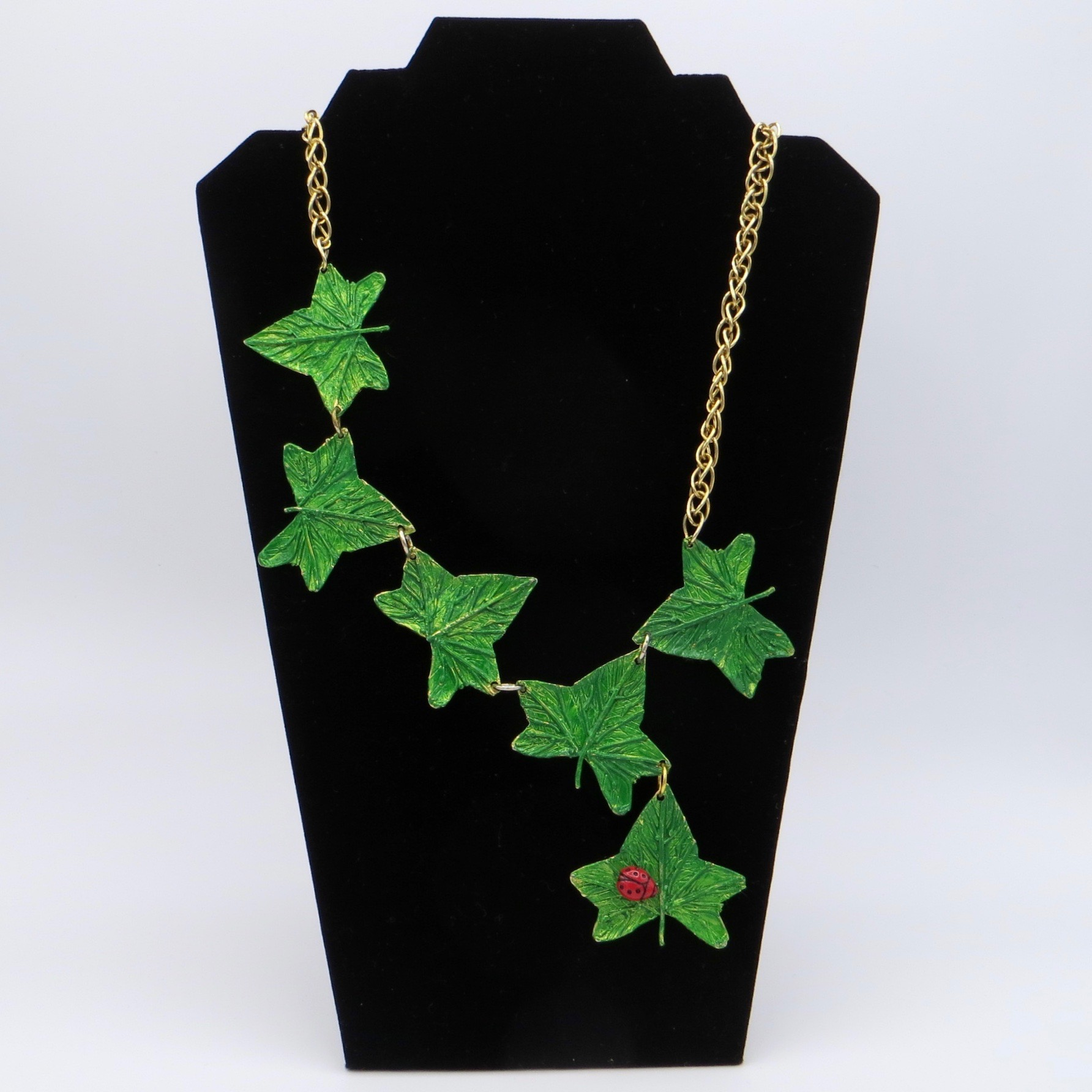 Italian Leaf Necklace
