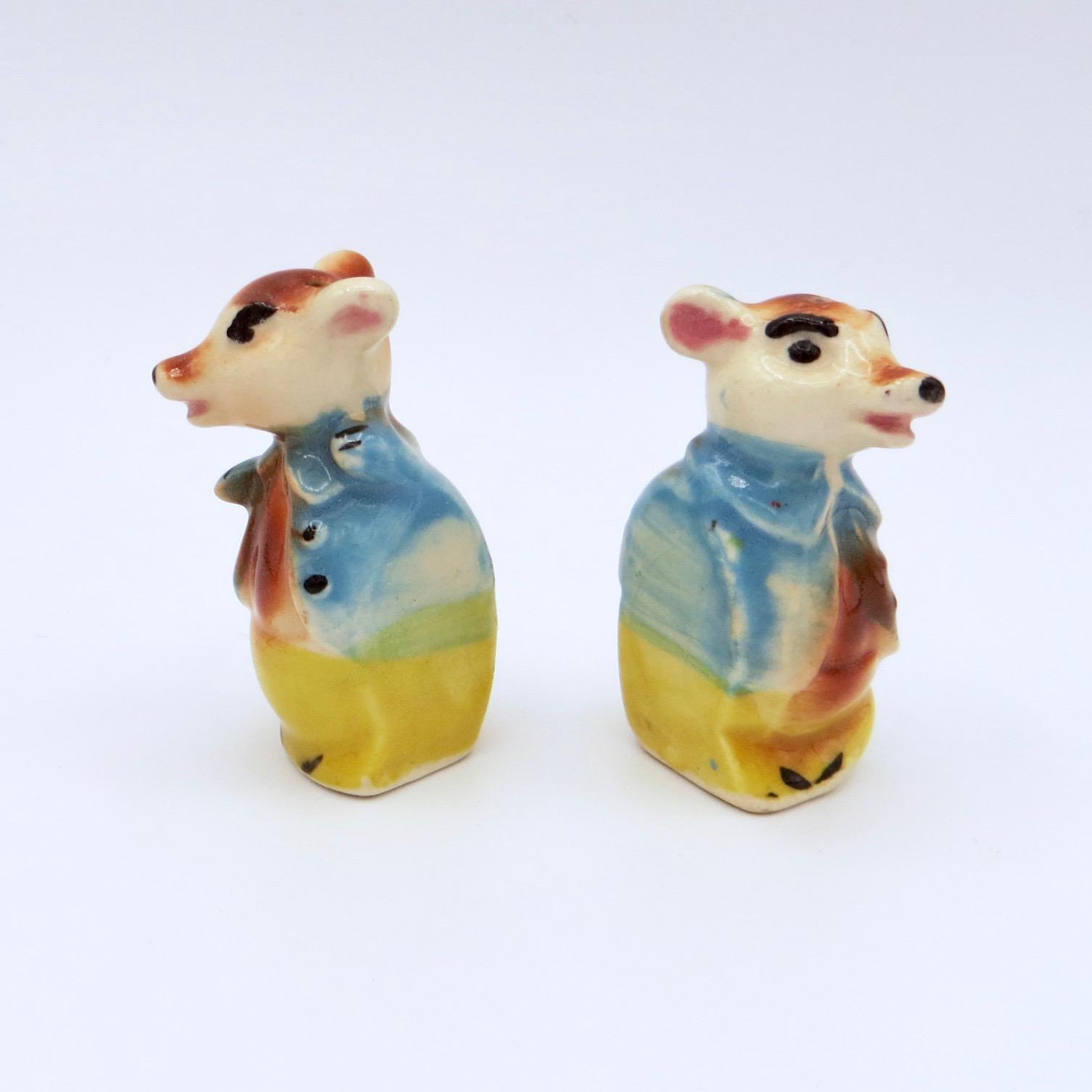 Fashionable Mice Salt & Pepper