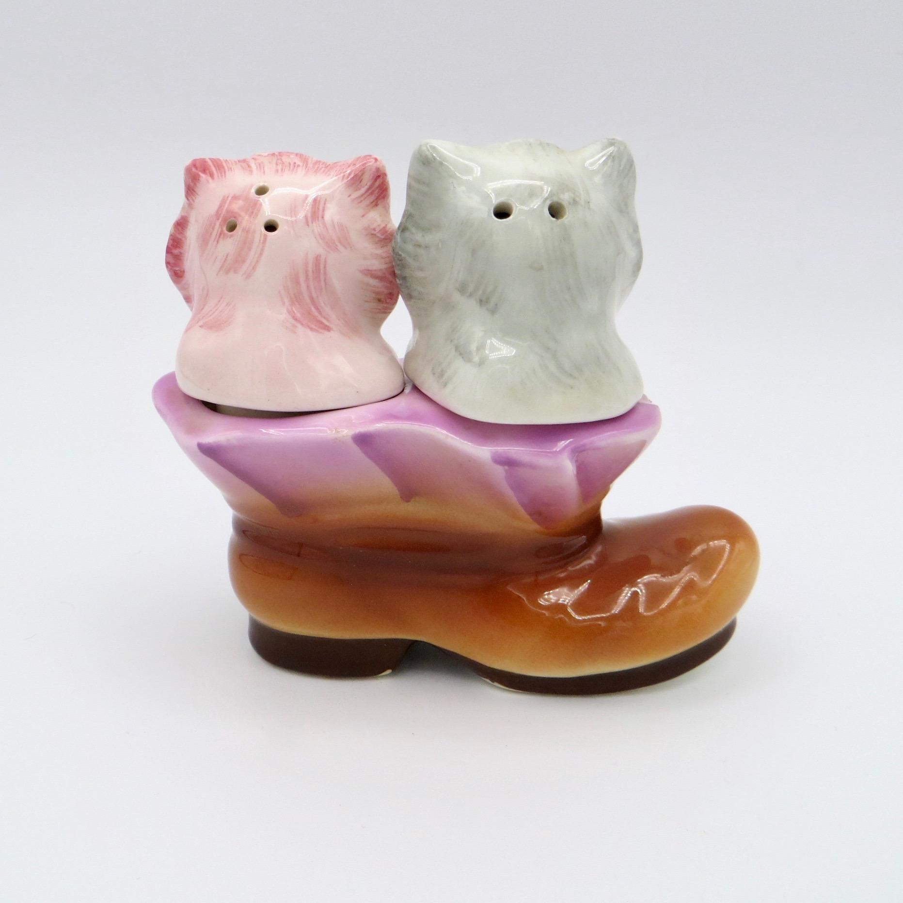 Kittens in a Boot Salt & Pepper
