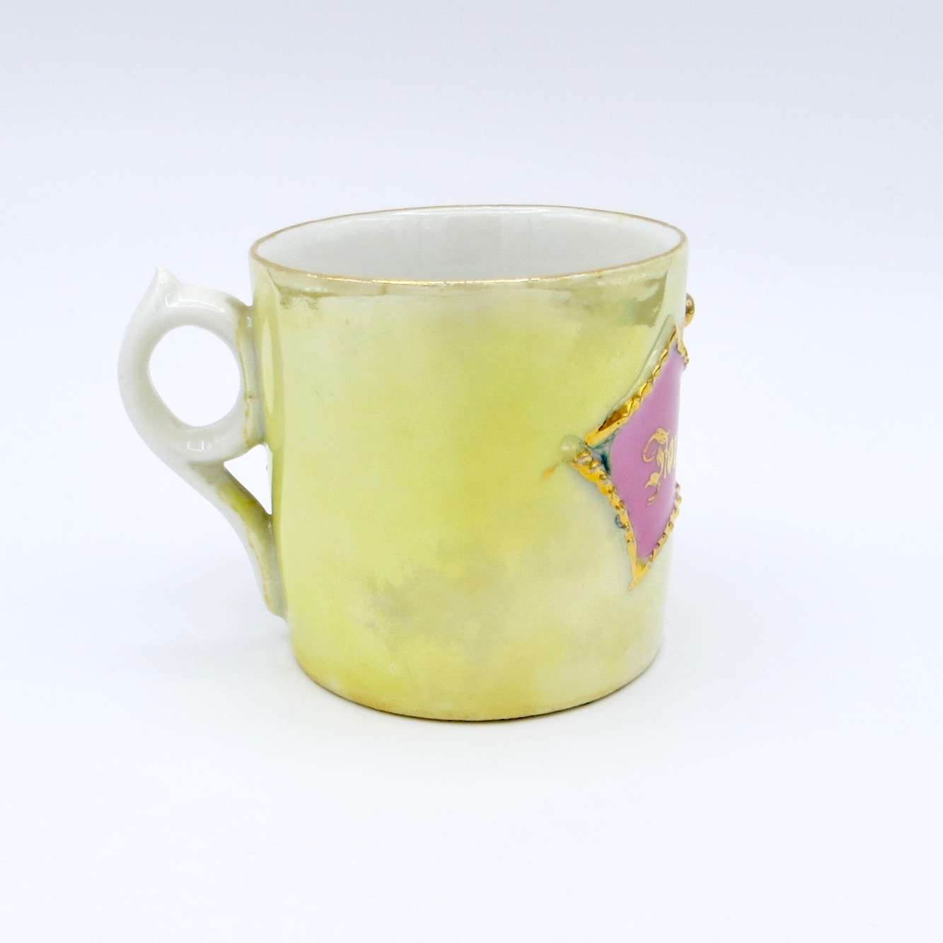 "Green ""Forget Me Not"" Mug"
