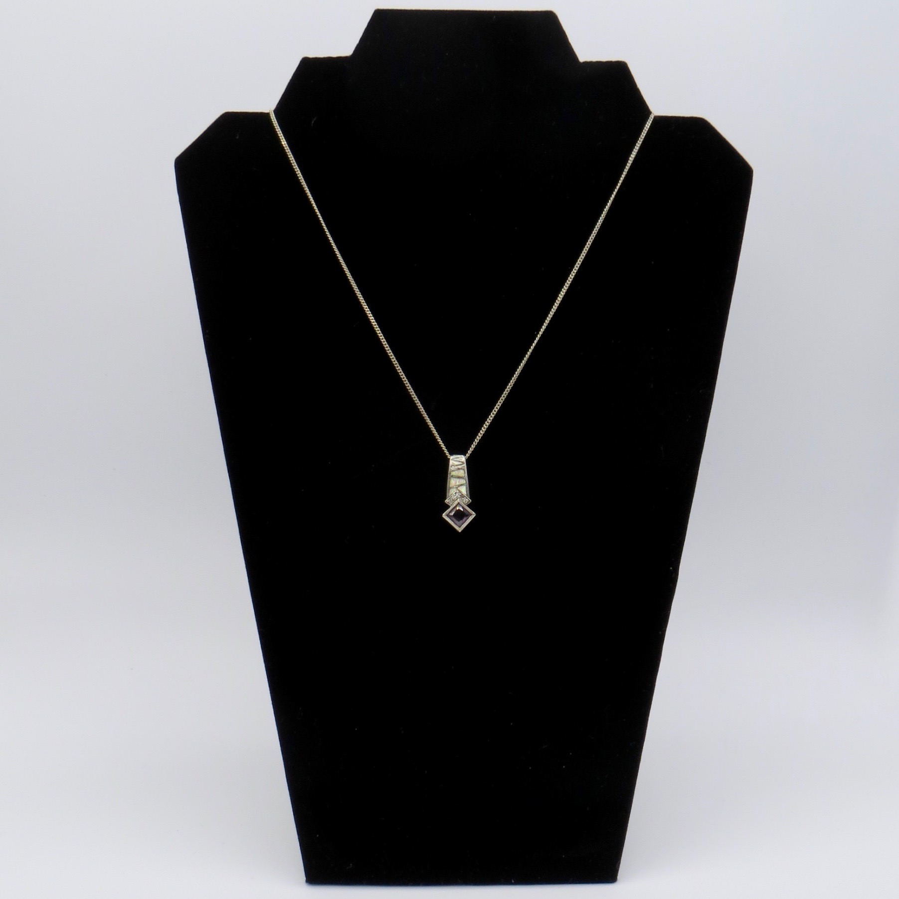 Opal & Amethyst Necklace