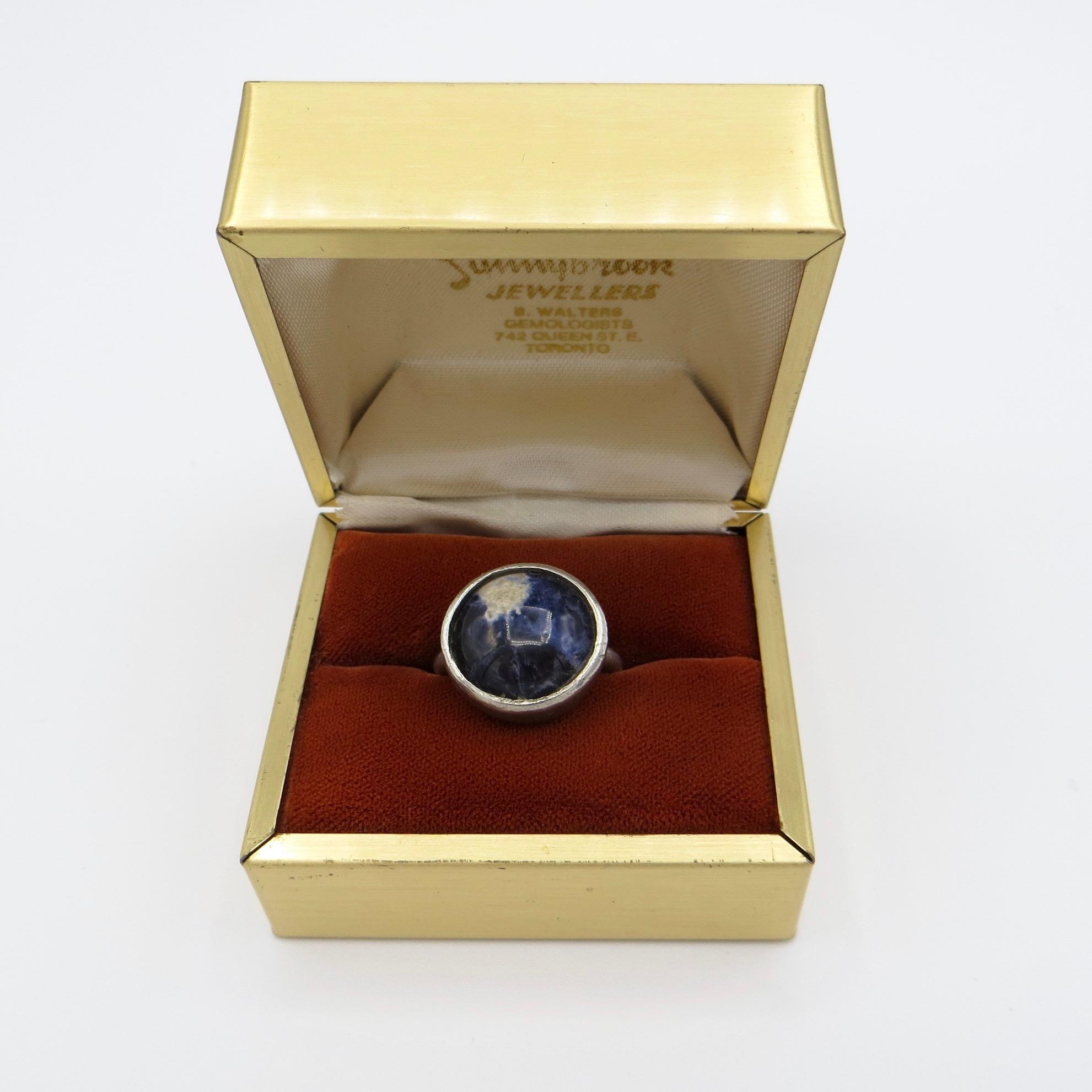 Sodalite Ring