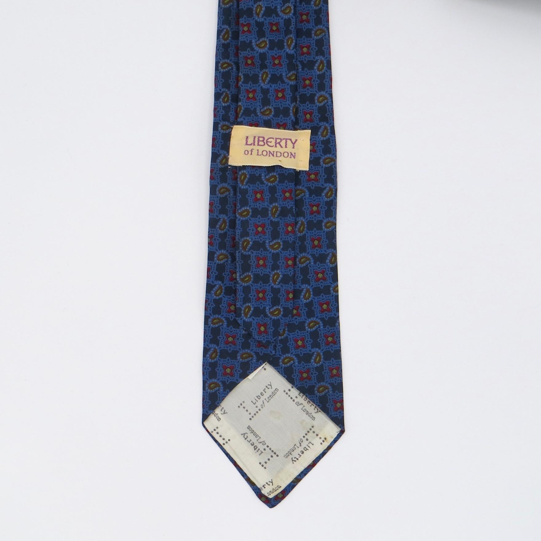 Blue Liberty Tie