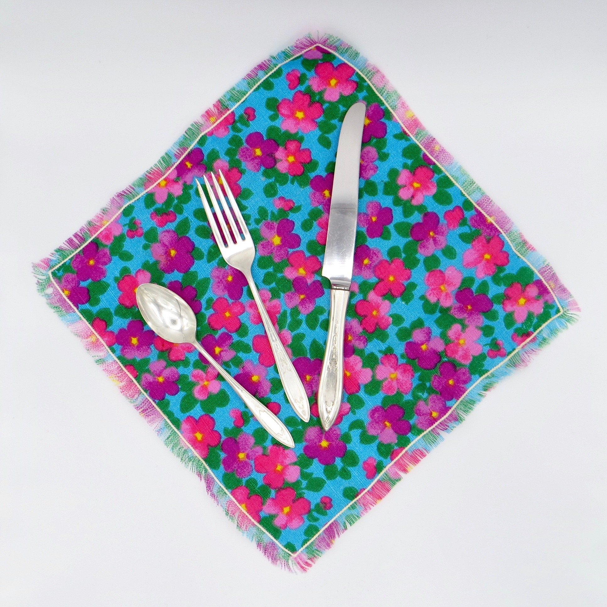 Silverware To Go - Patterned Napkins