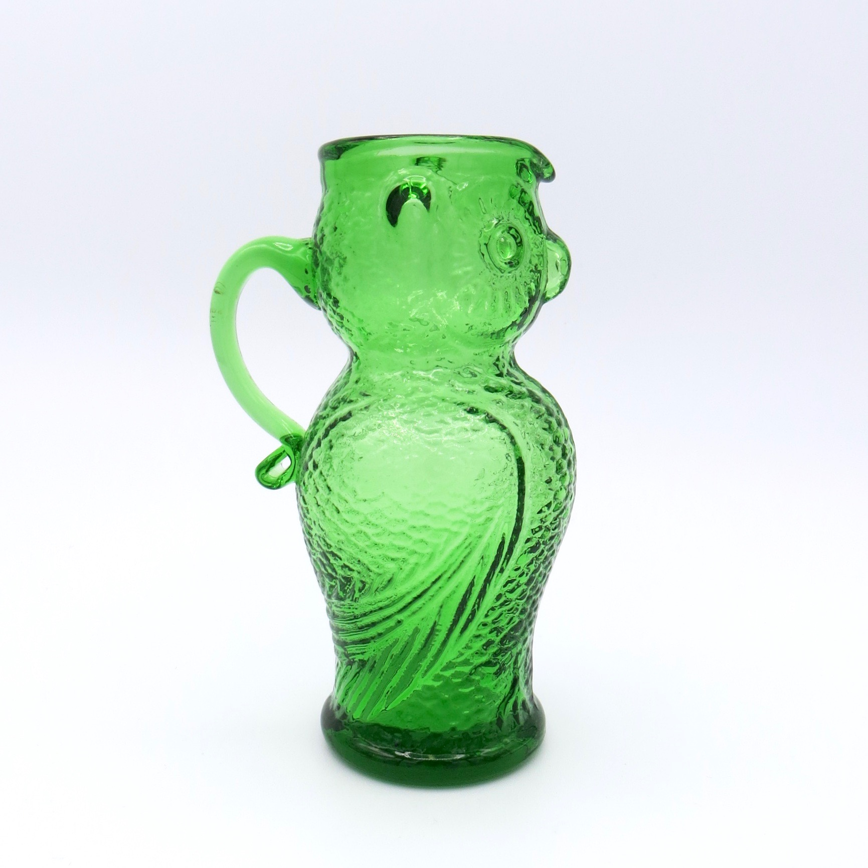 Green Owl Pitcher