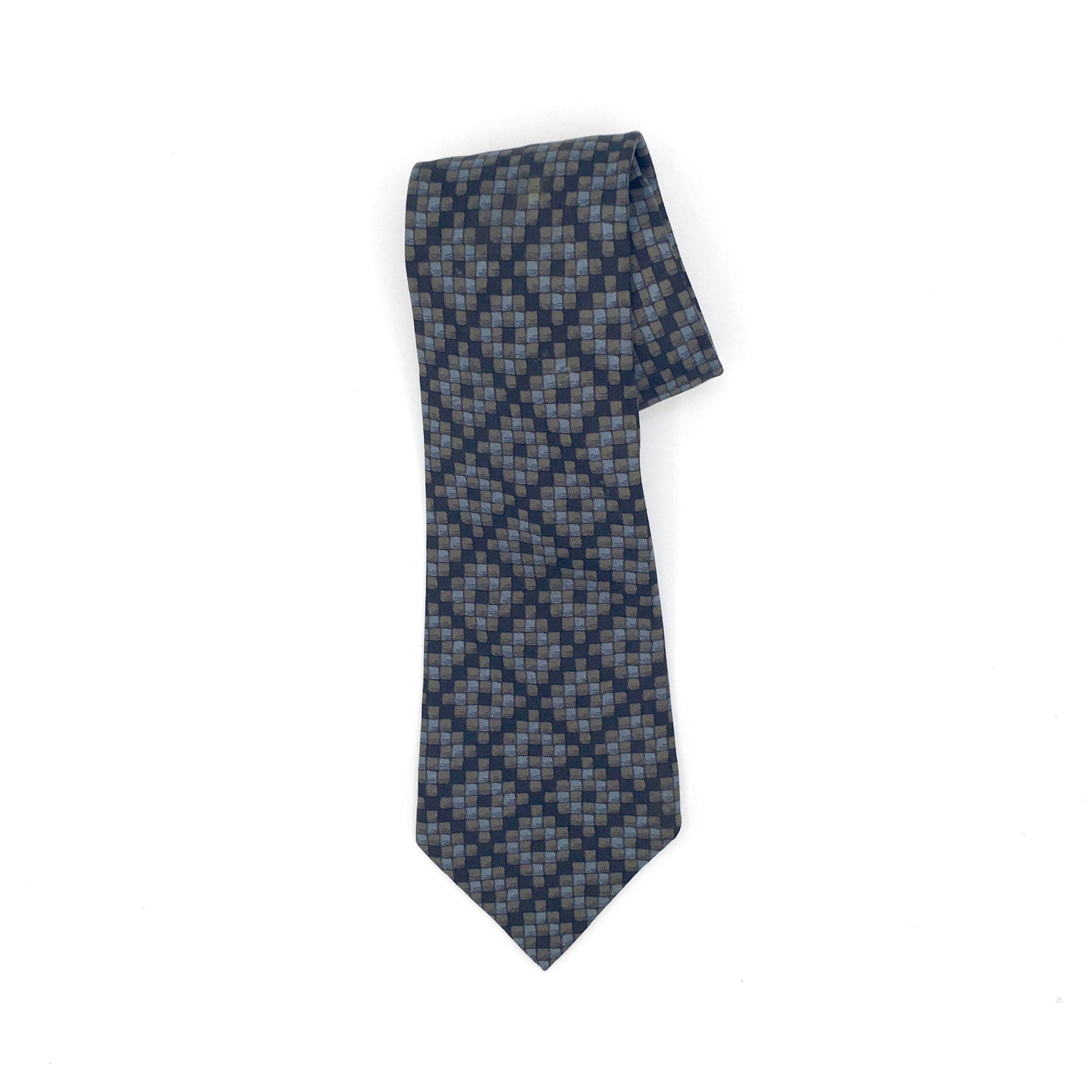 Navy Hermés Tie