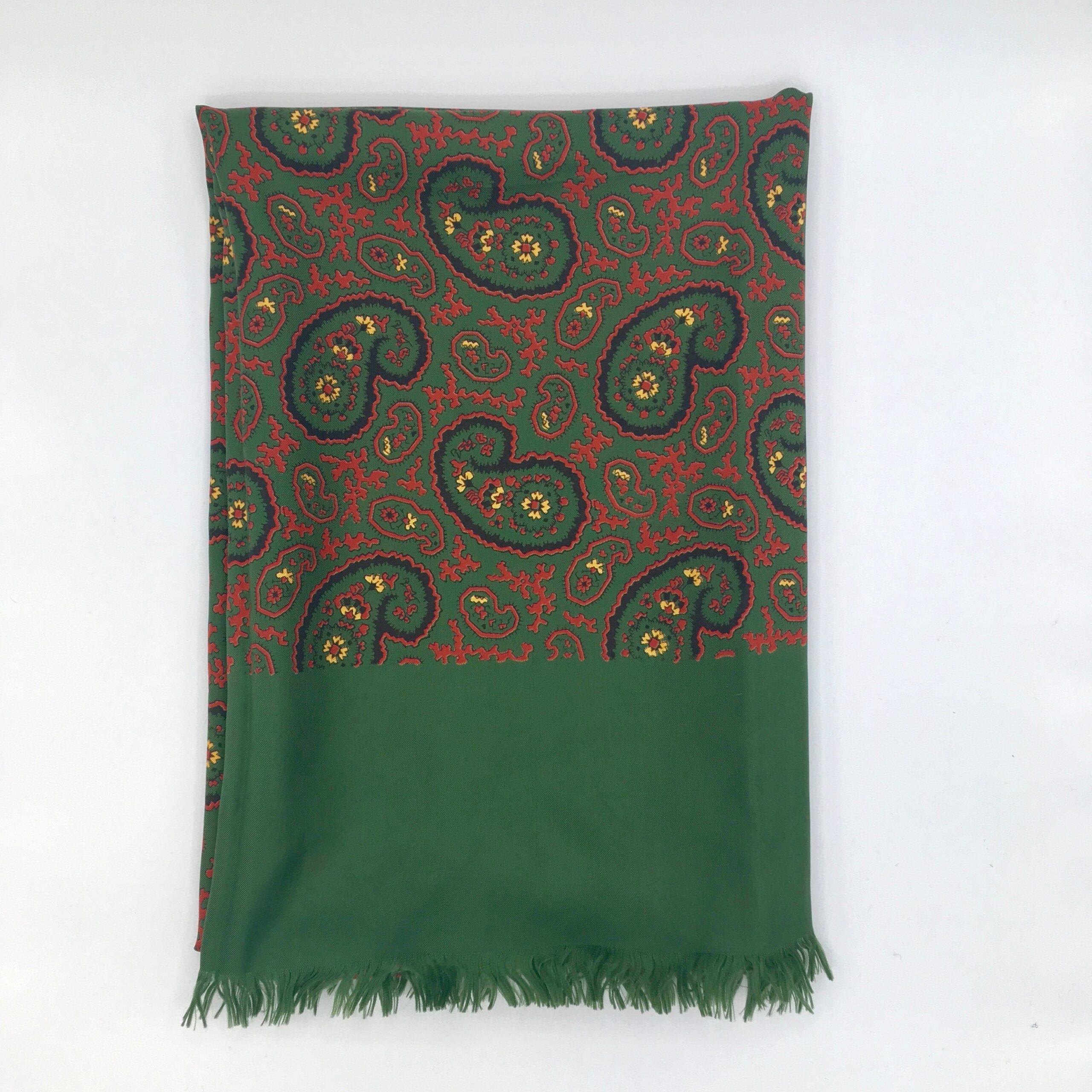 Paisley Italian Silk Scarf