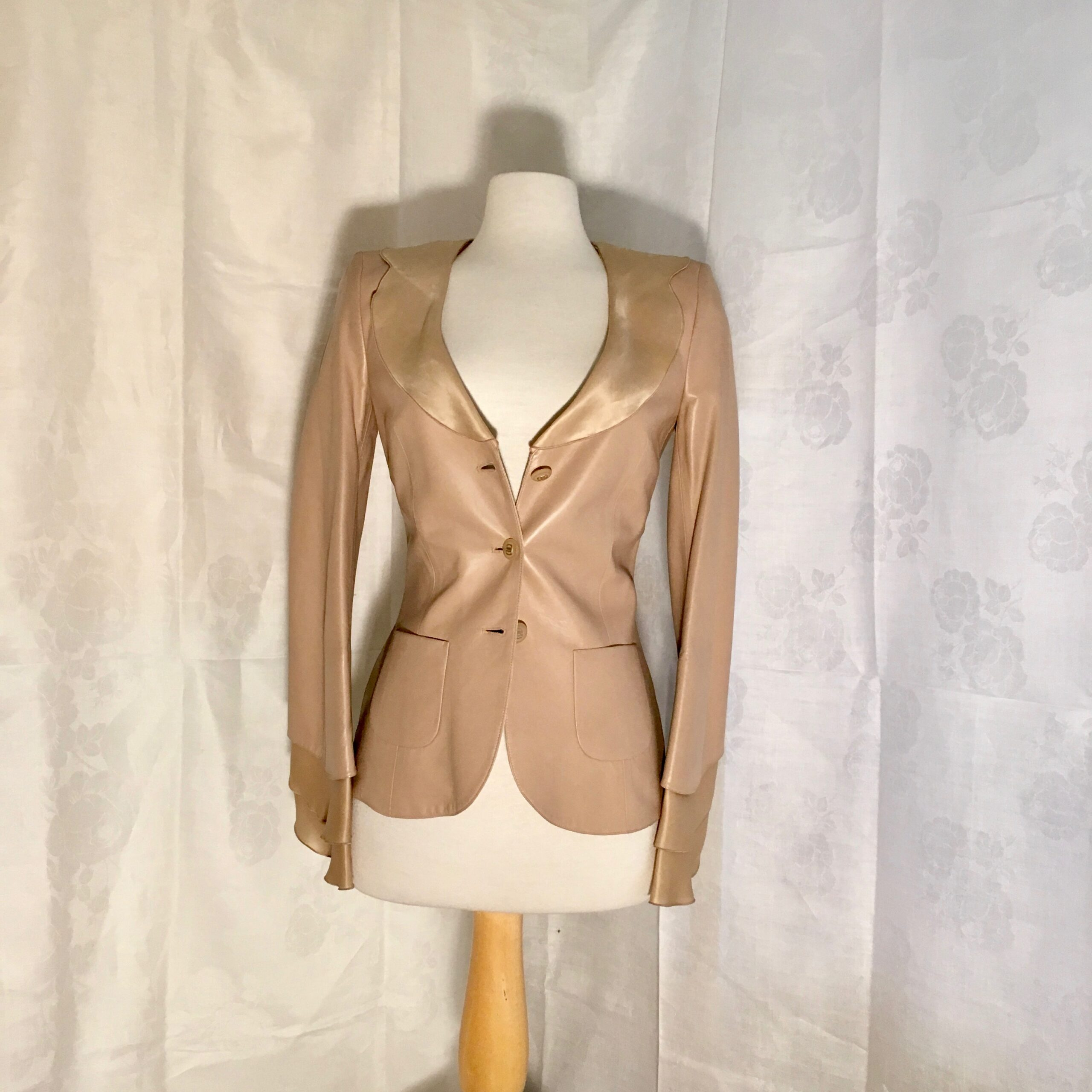 Ferragamo Leather Jacket