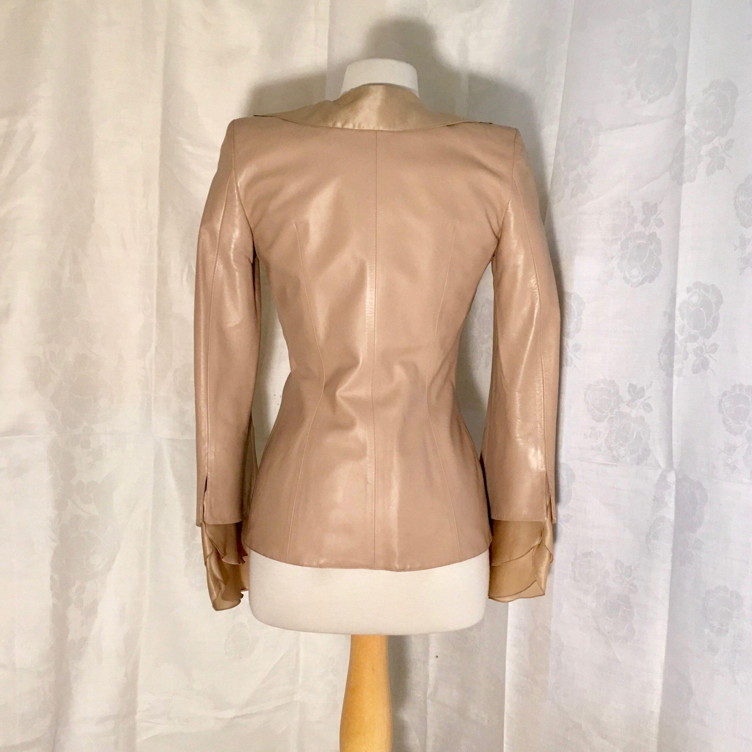 Ferragamo Leather Jacket