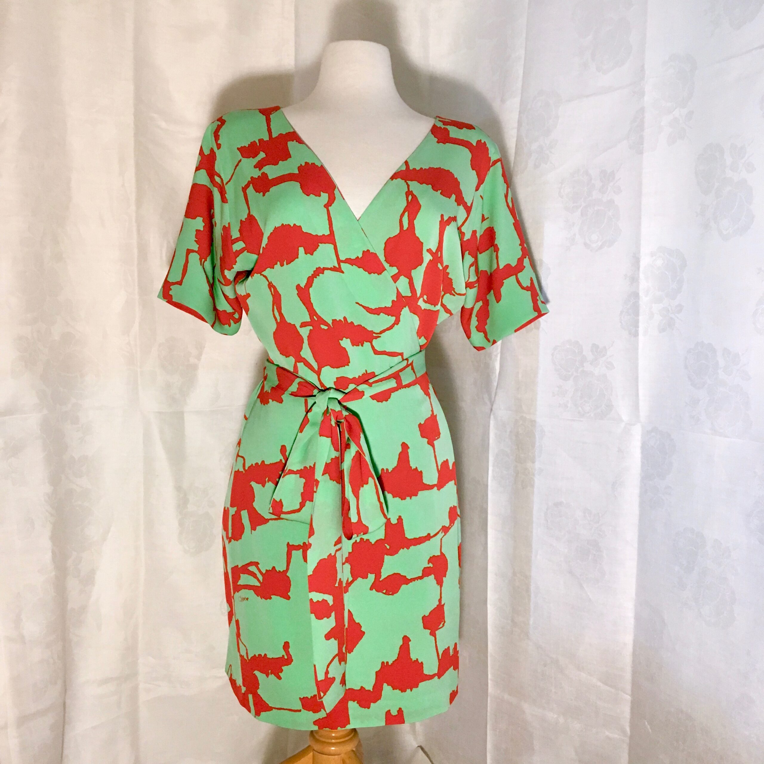 Diane Von Furstenberg Silk Wrap Dress