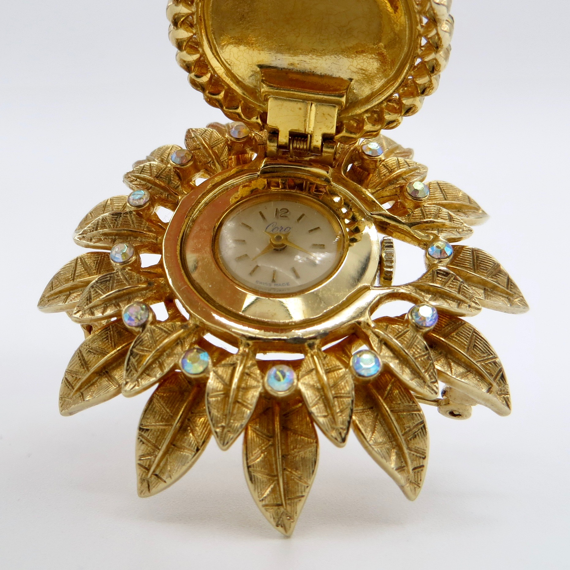 Watch Brooch