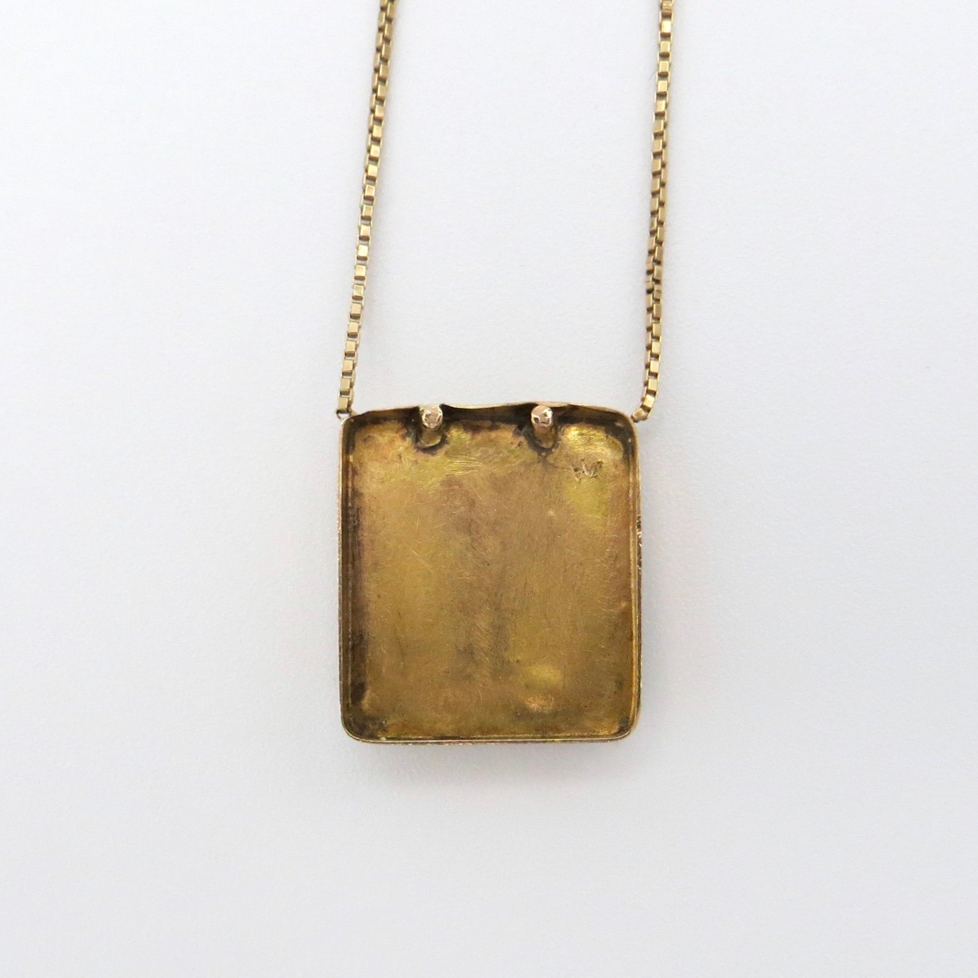 Gold Frog Necklace
