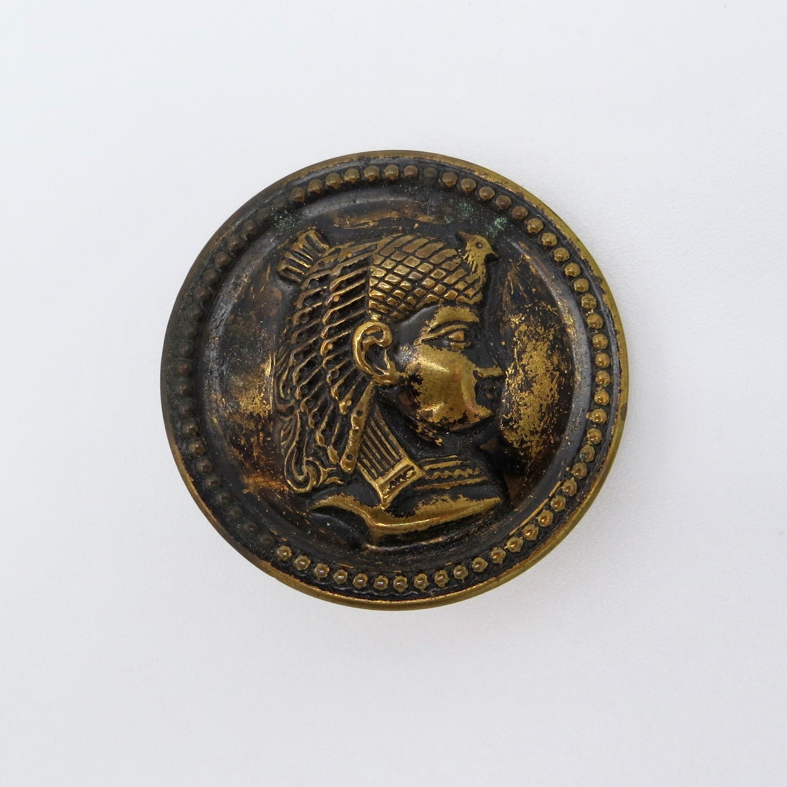 Victorian Cleopatra Button