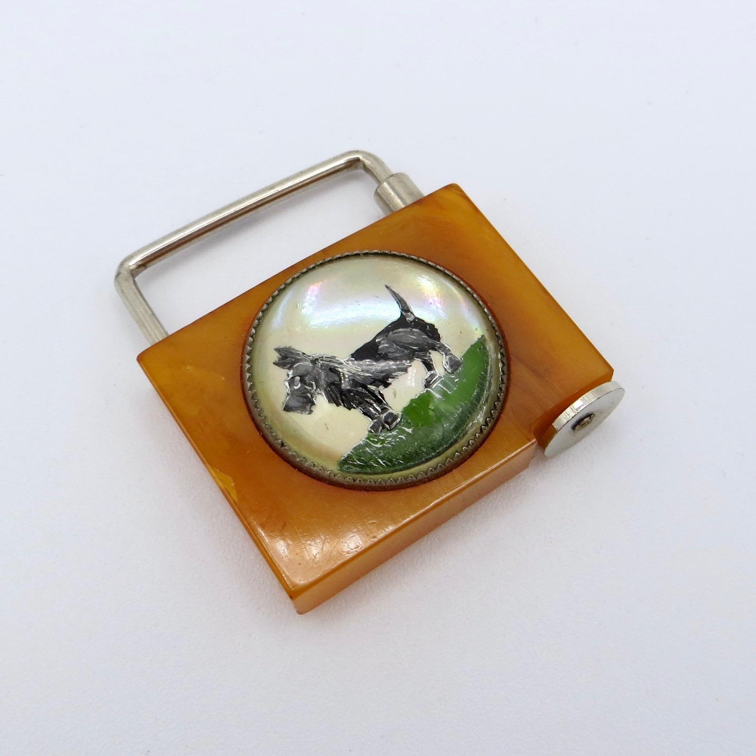 Bakelite Lock/Keychain
