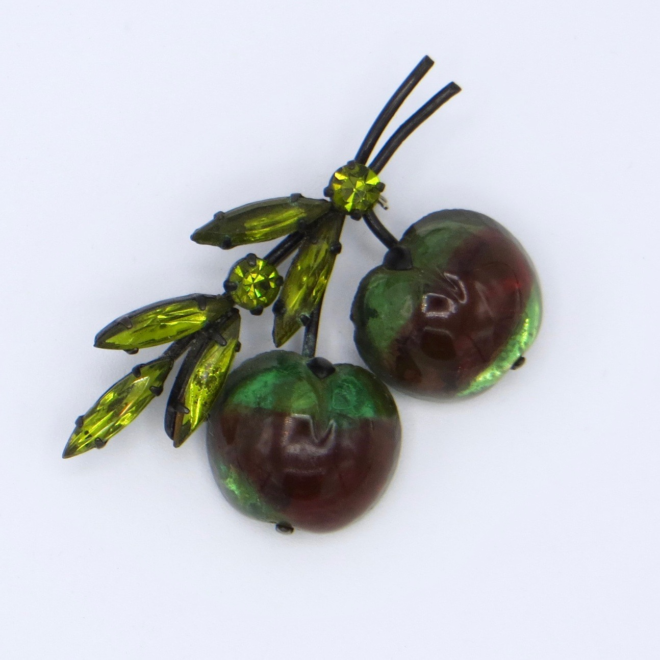 Austrian Fruit Brooch