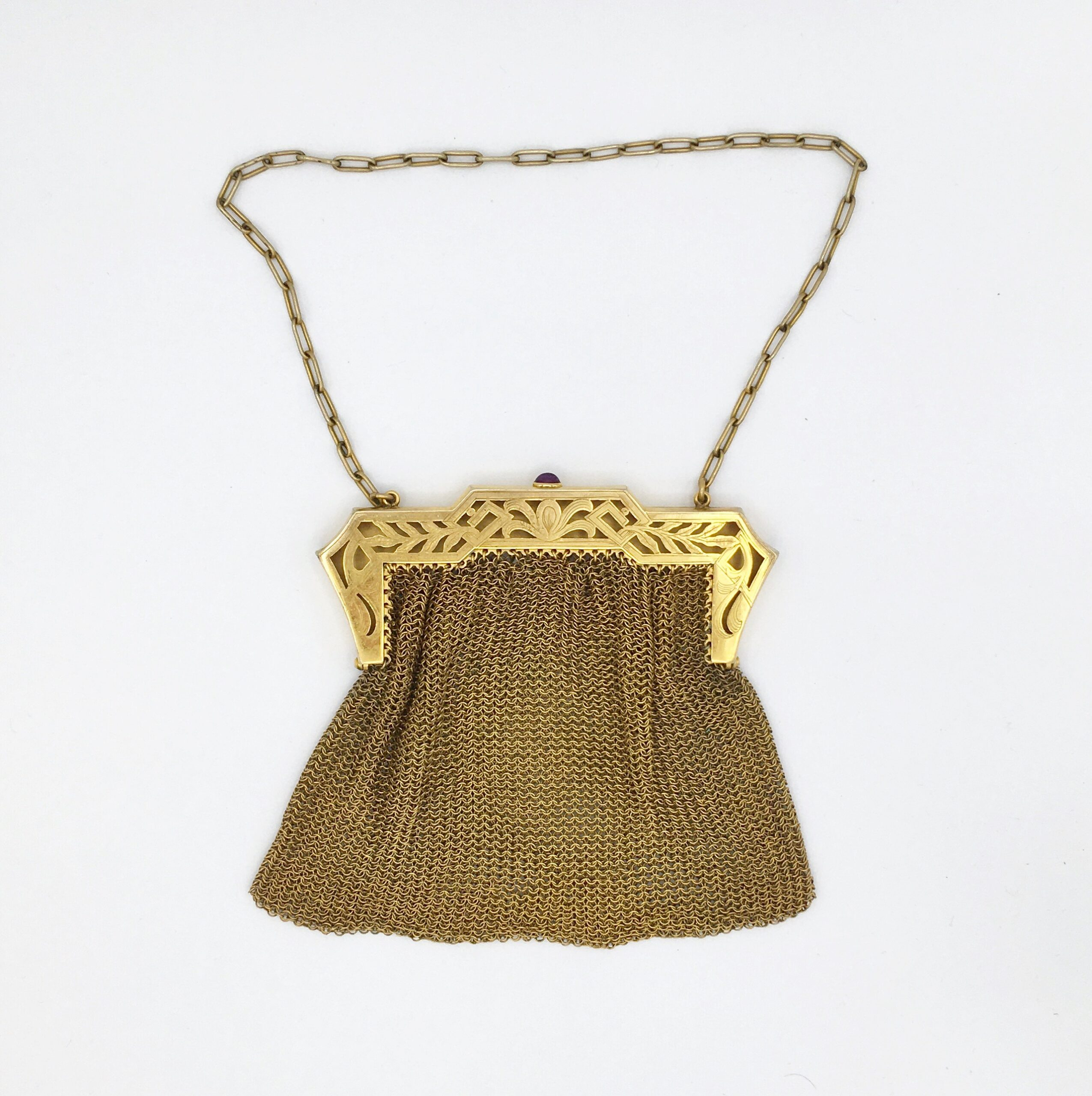 Gilt Chain Mesh Purse