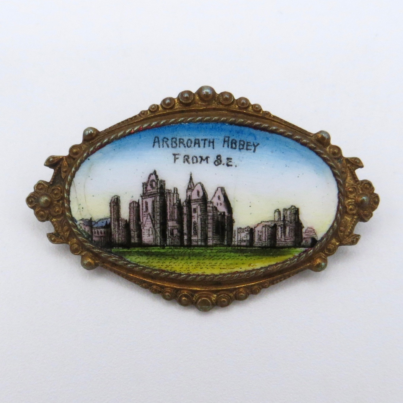 Arbroath Abbey Brooch