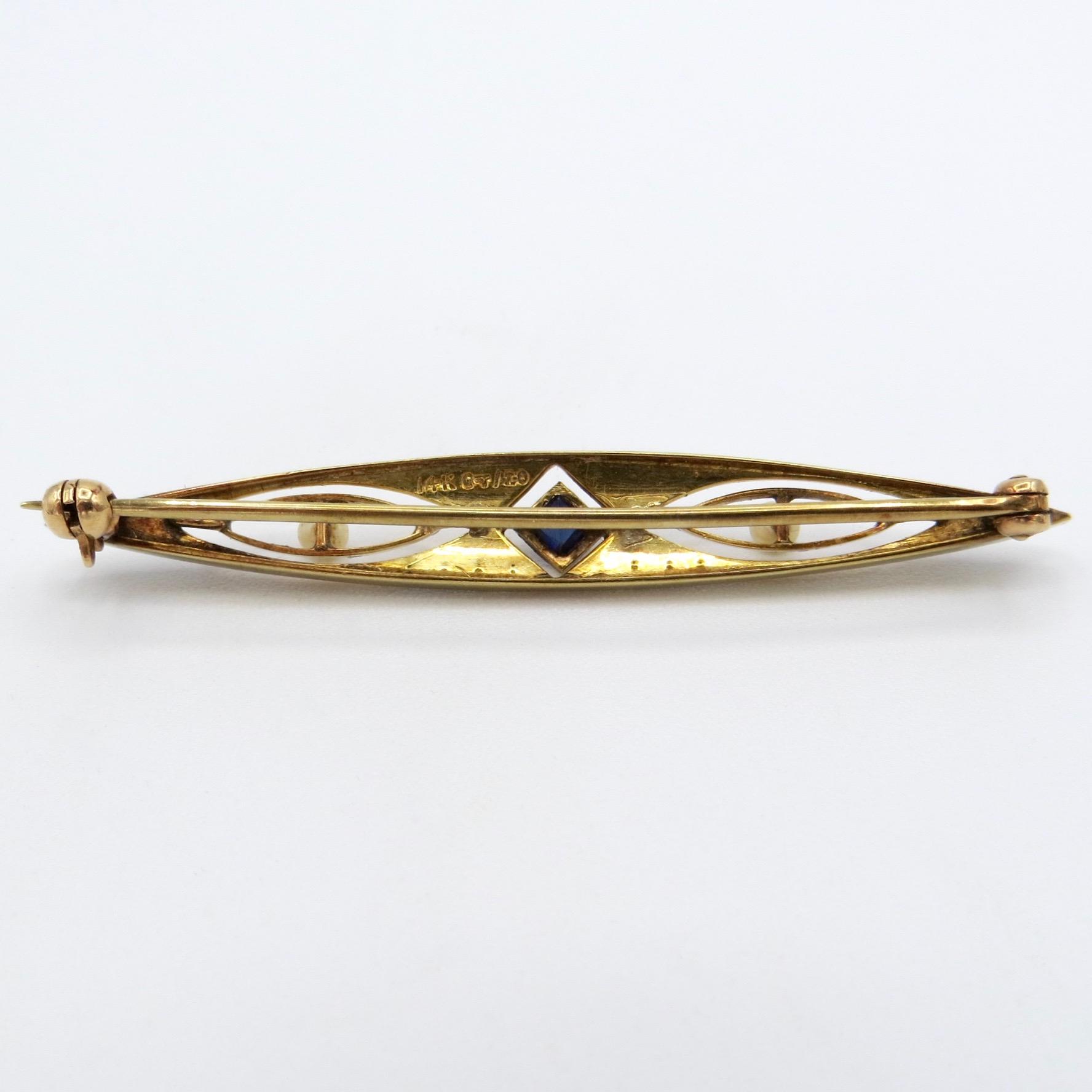 14kt Gold-Filled Brooch