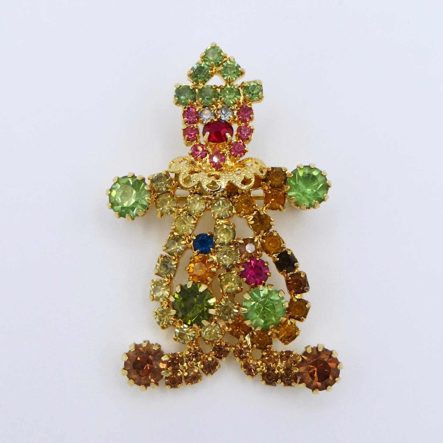 Hobe Clown Brooch