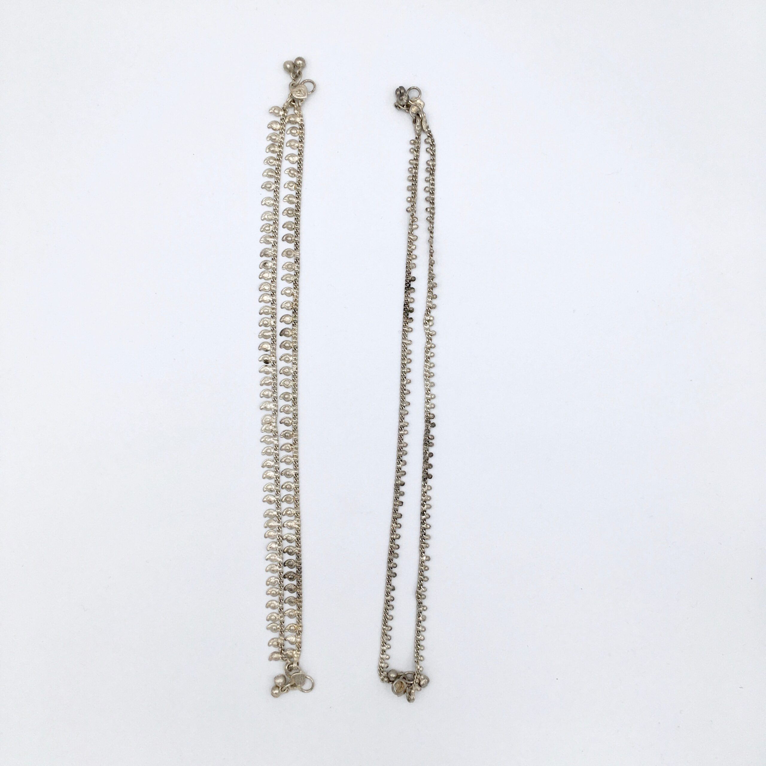 Silver Indian Anklets