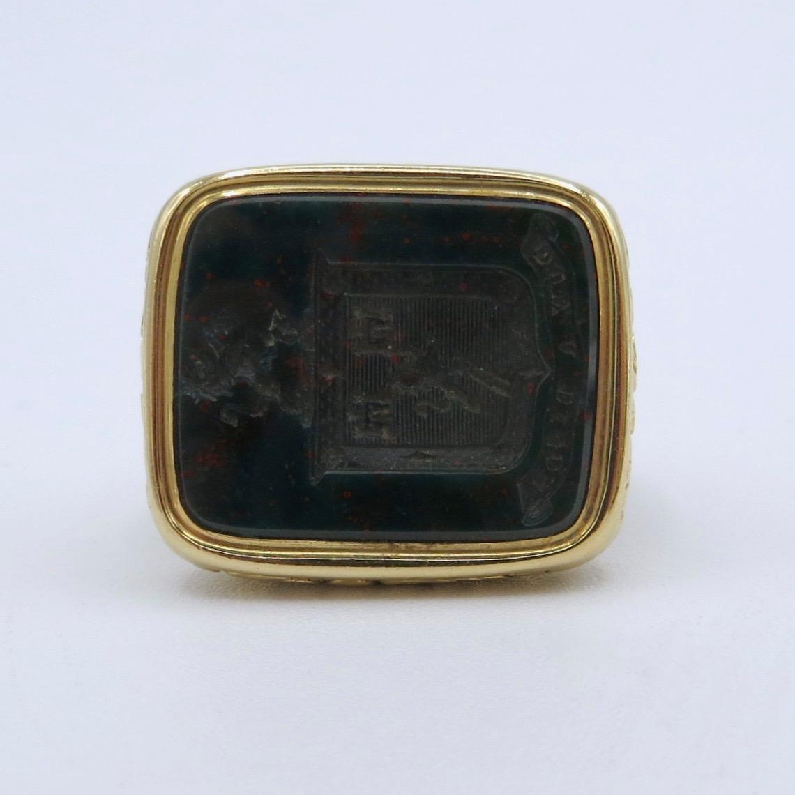 Georgian Bloodstone Ring