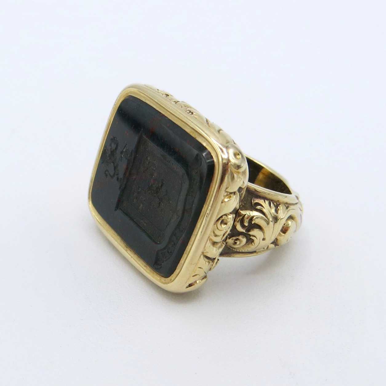 Georgian Bloodstone Ring