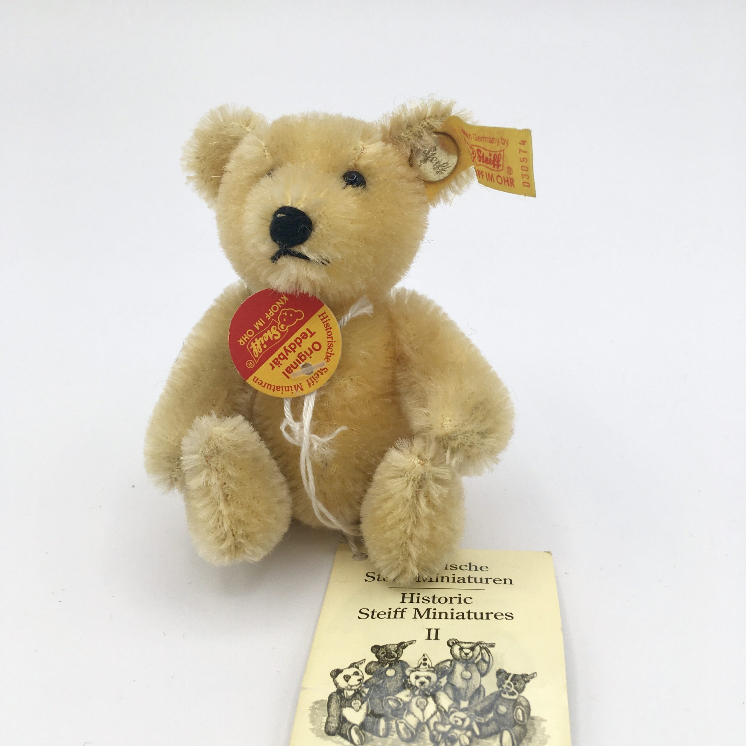 Yellow Steiff Bear