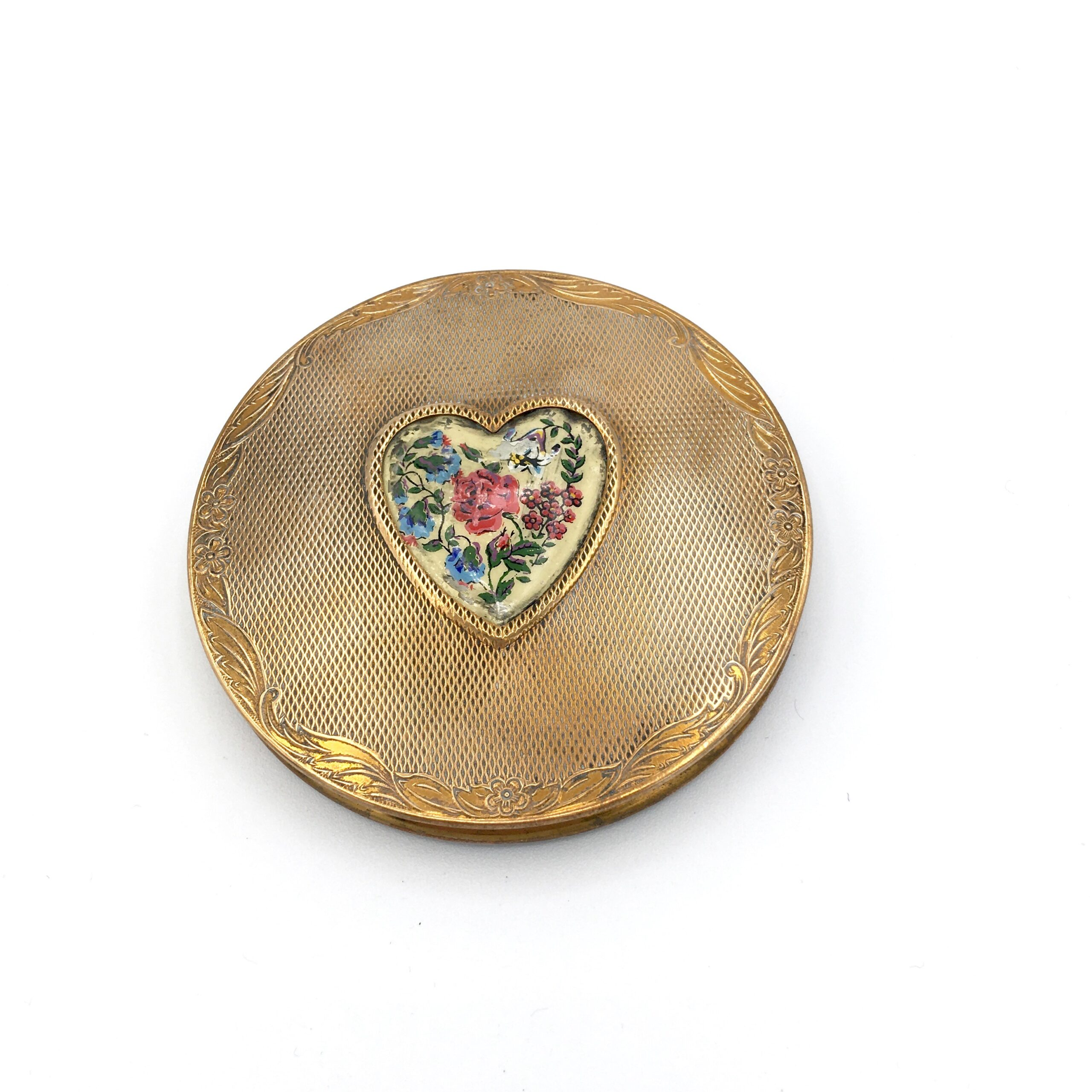 Painted Heart Compact