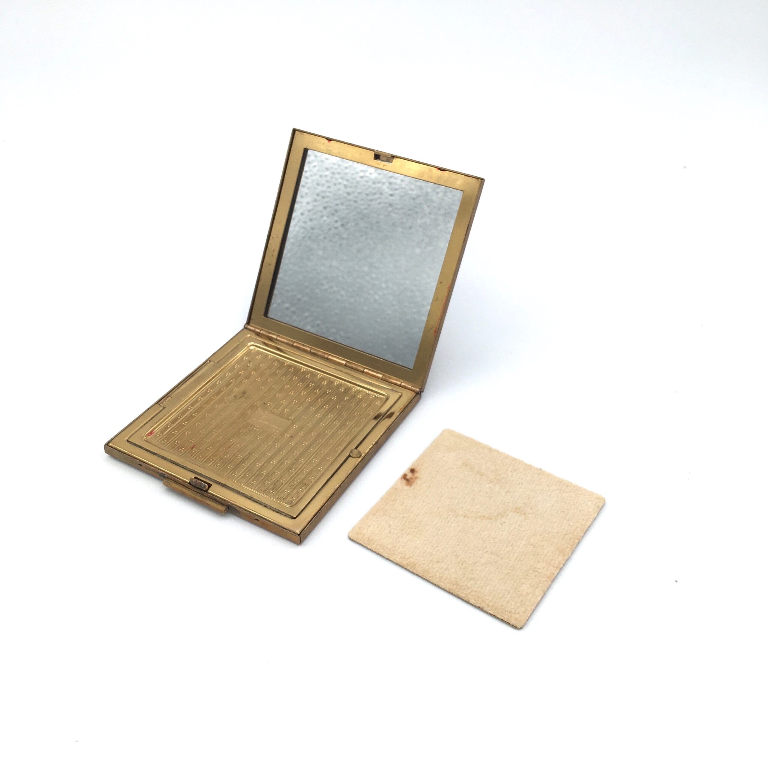 Square Mother of Pearl Compact