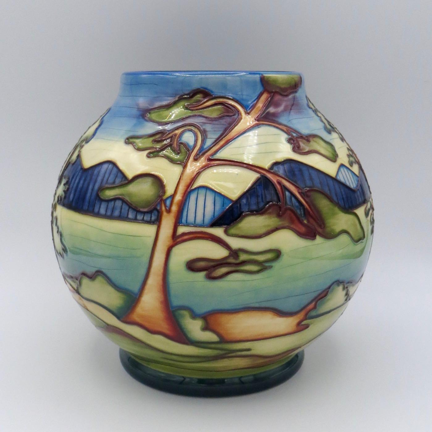 Moorcroft Algonquin Vase