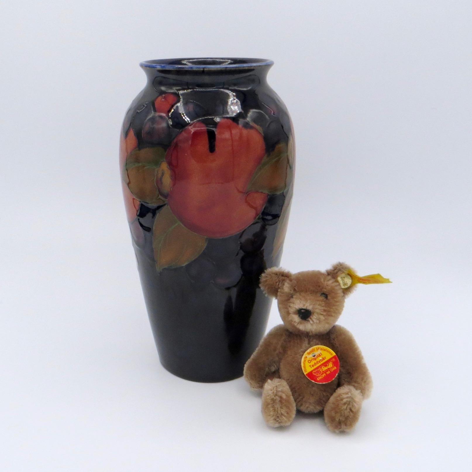"""Moorcroft Pomegranate Vase (7.5"""")"""