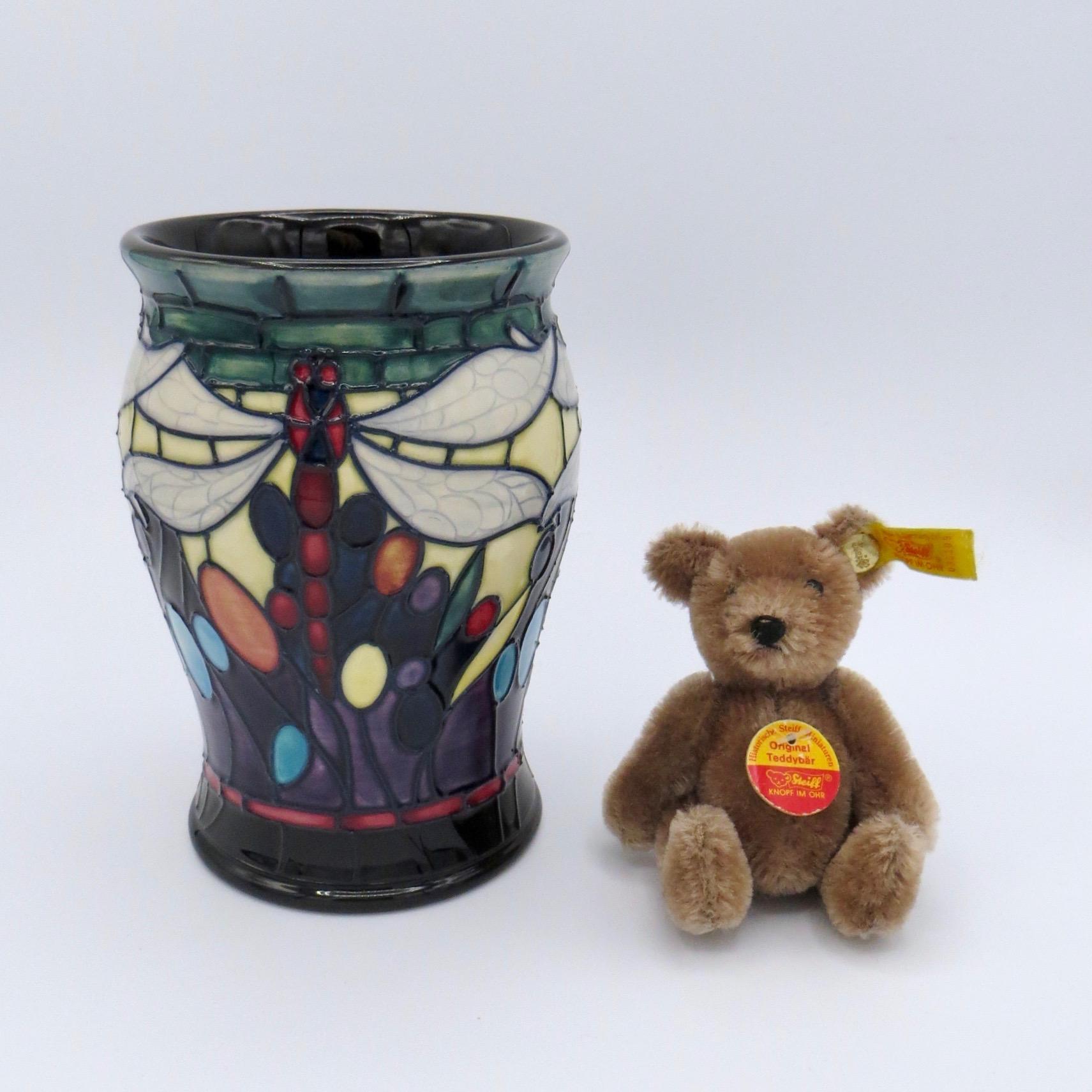 """Moorcroft Favrile Vase (5.5"""")"""