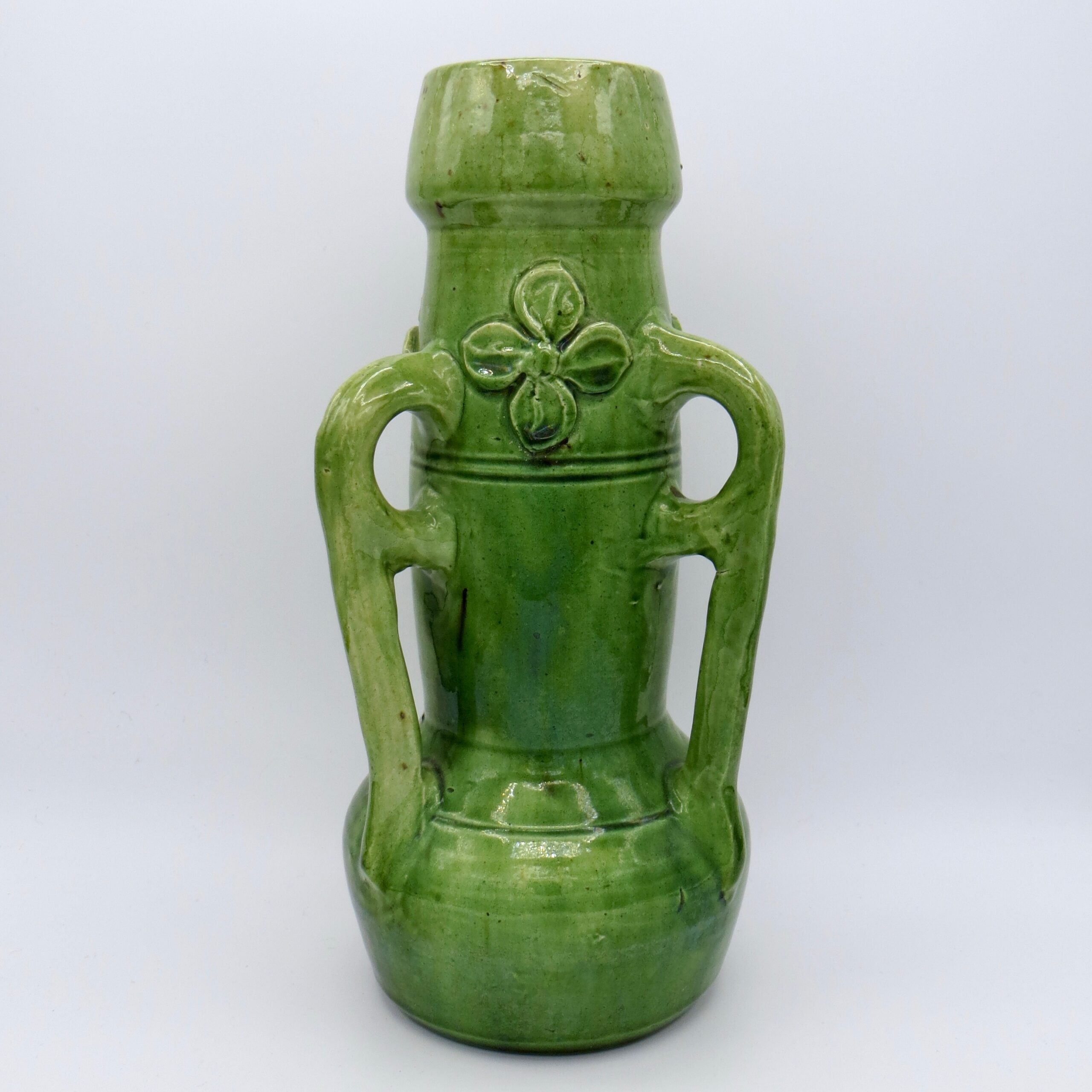 Green Arts & Crafts Vase
