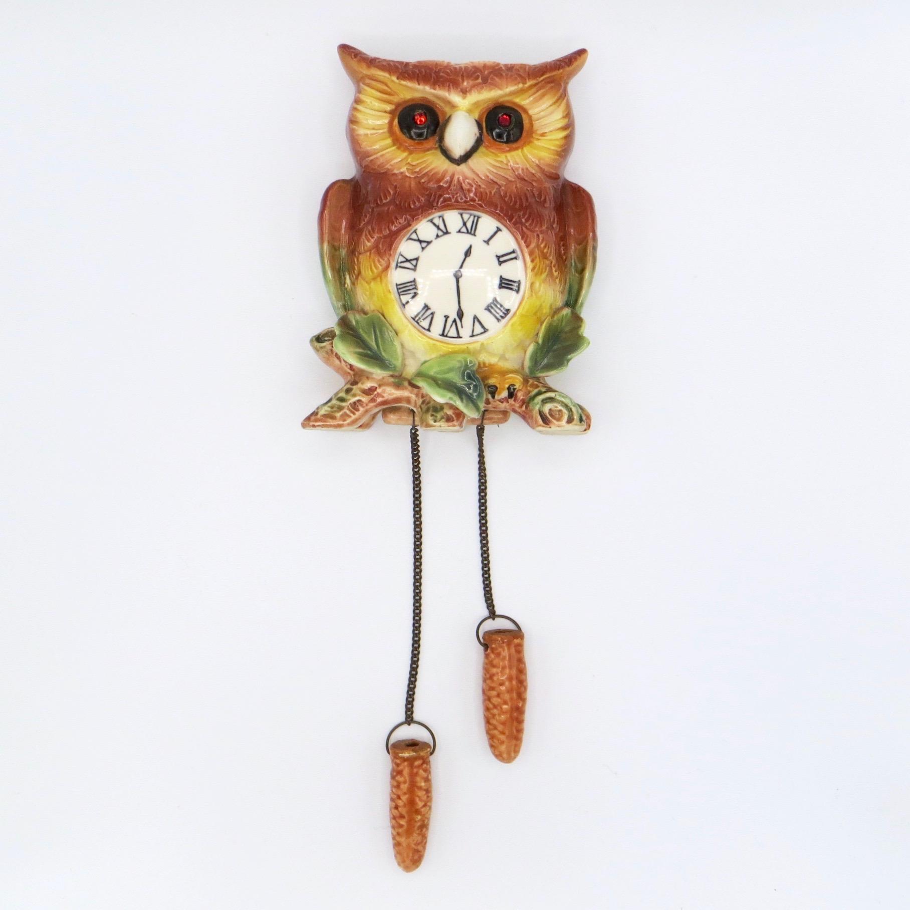 Owl Wall Pocket