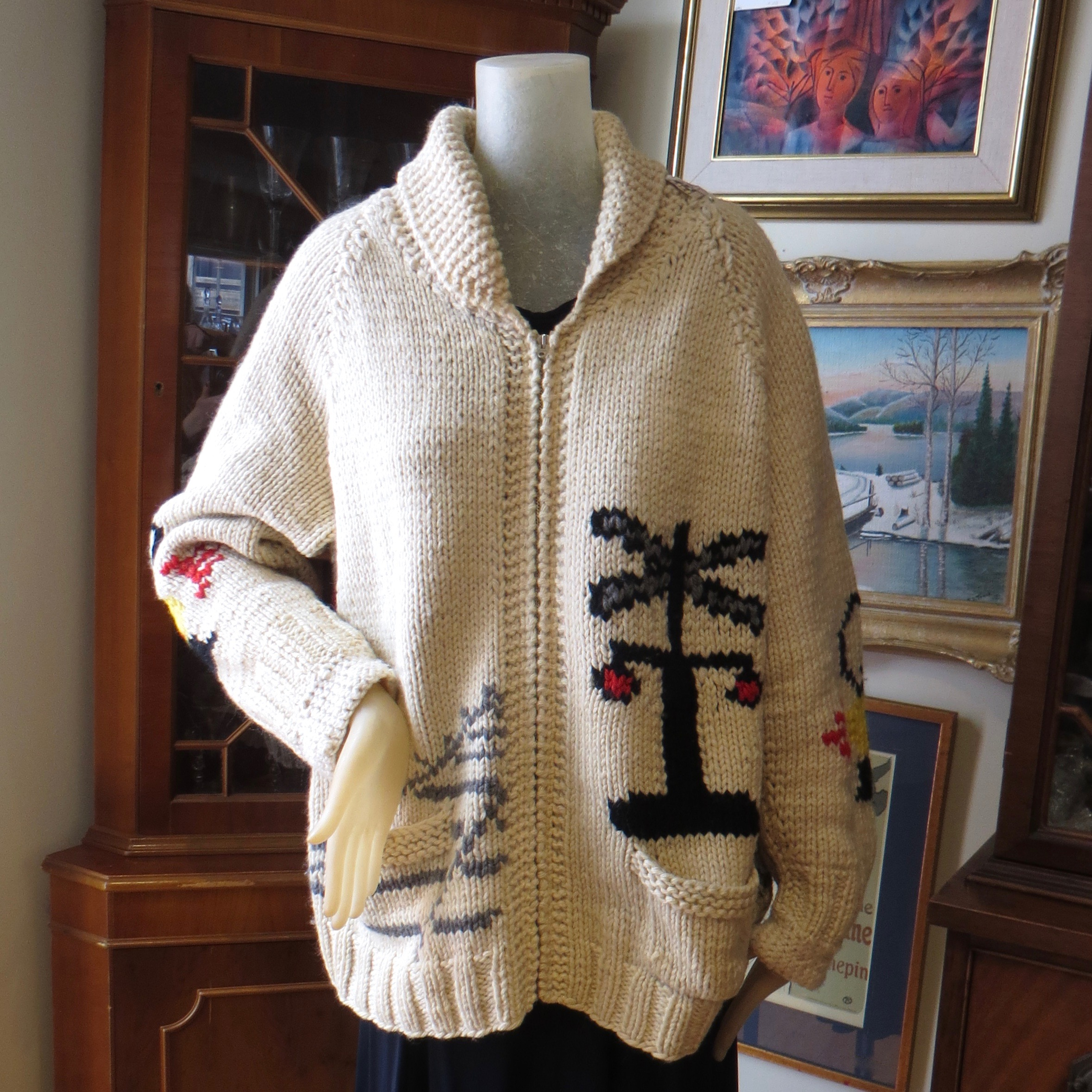 Wool Train Sweater