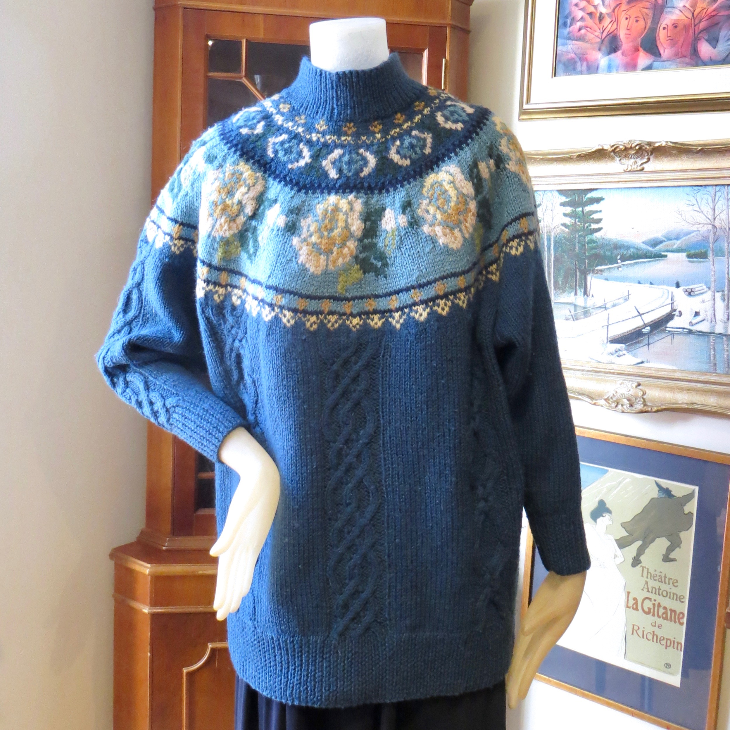 Vintage Laura Ashley Sweater