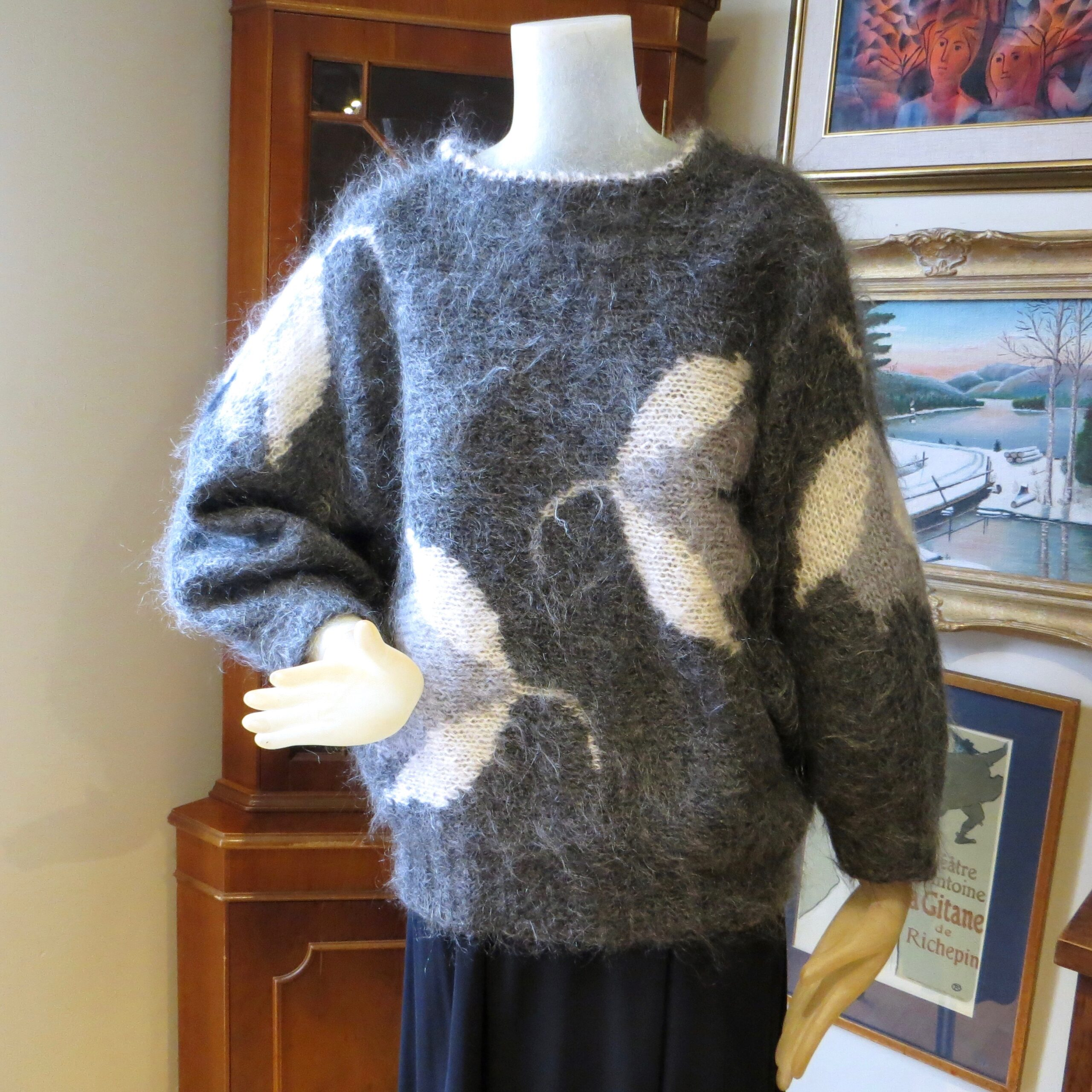 Mohair Crane Sweater