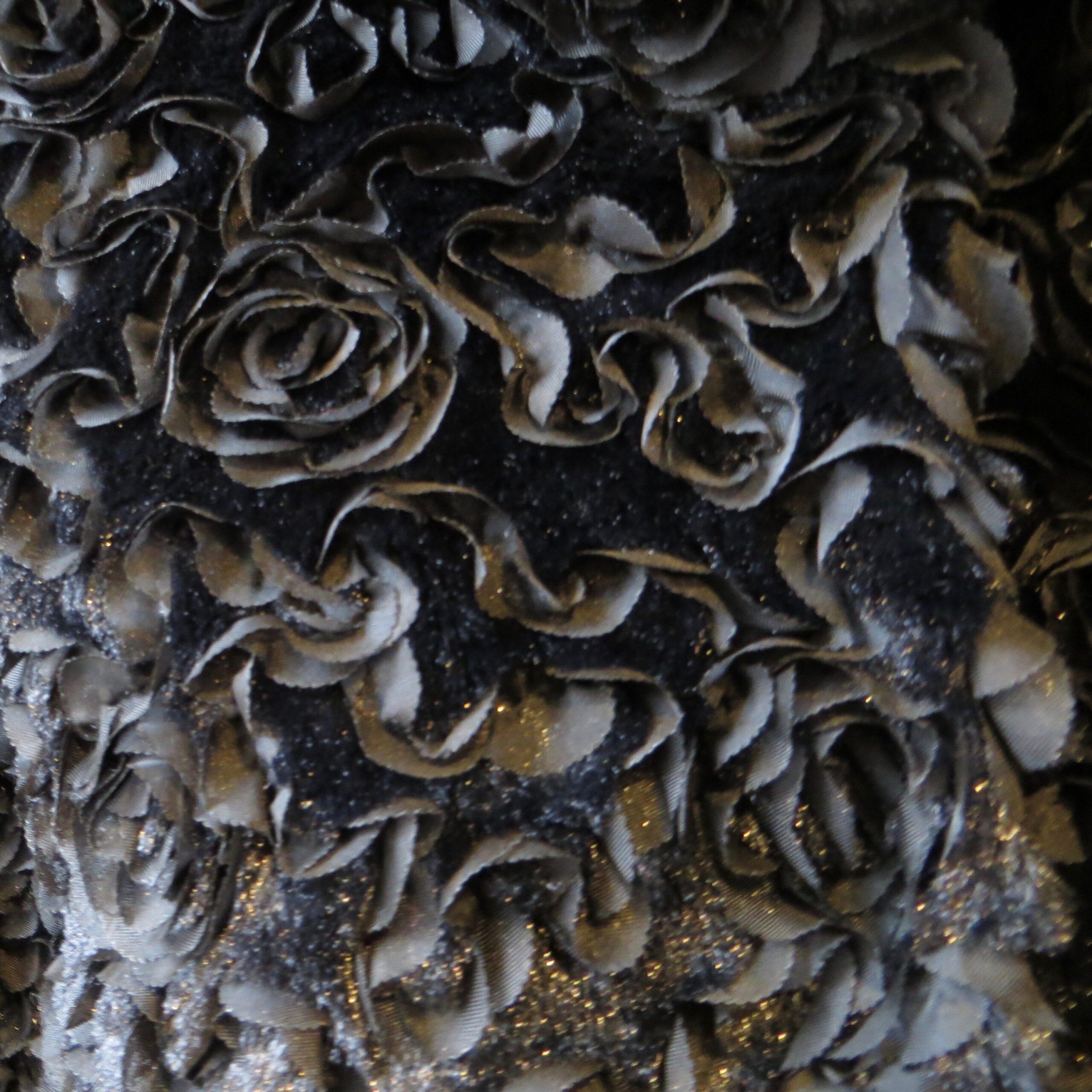 Floral Faux-Fur Jacket