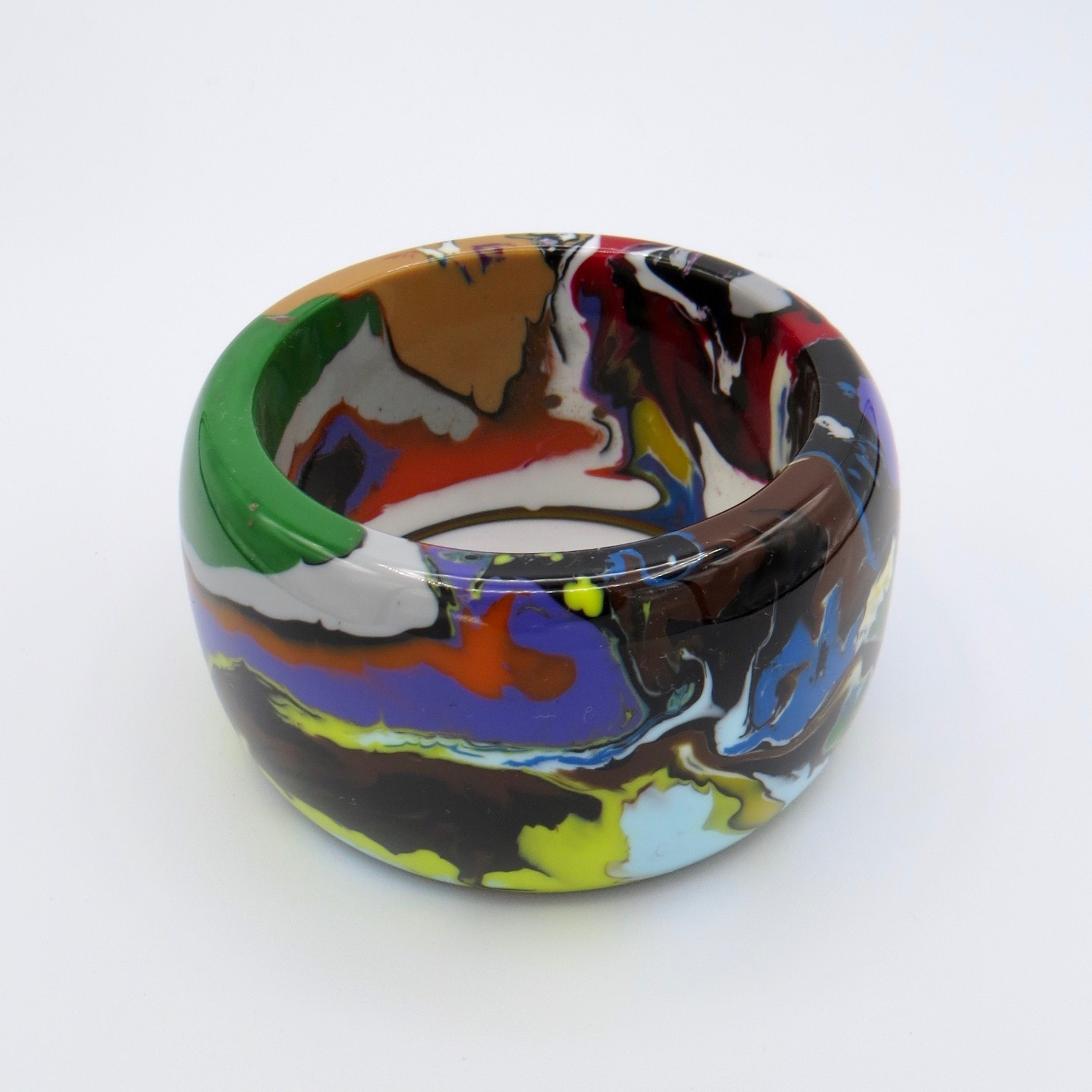 Sobral Marbelized Resin Bracelet