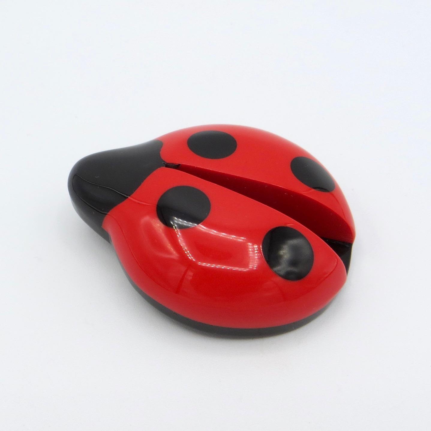 Marion Godart Ladybug Brooch