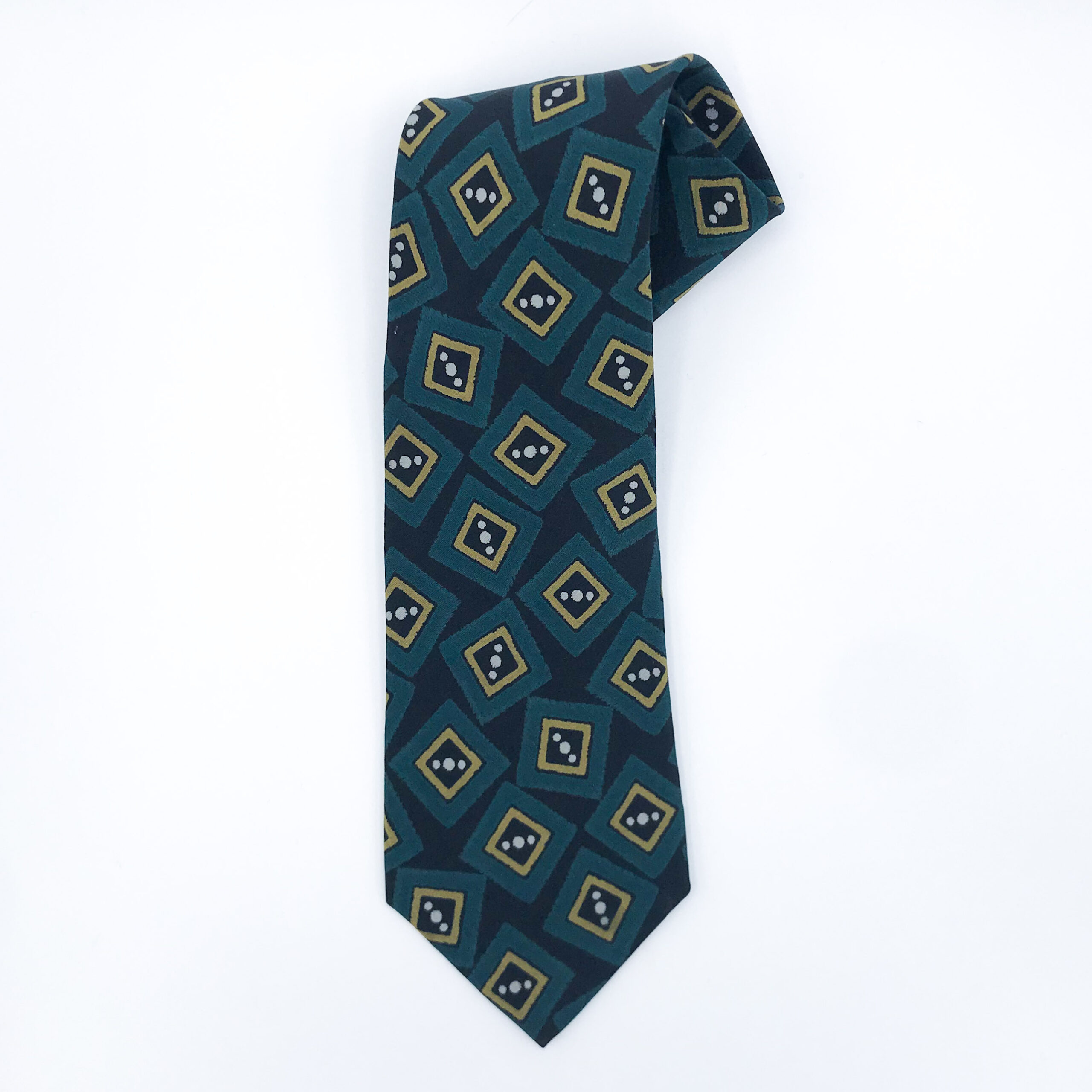 Armani Patterned Silk Tie