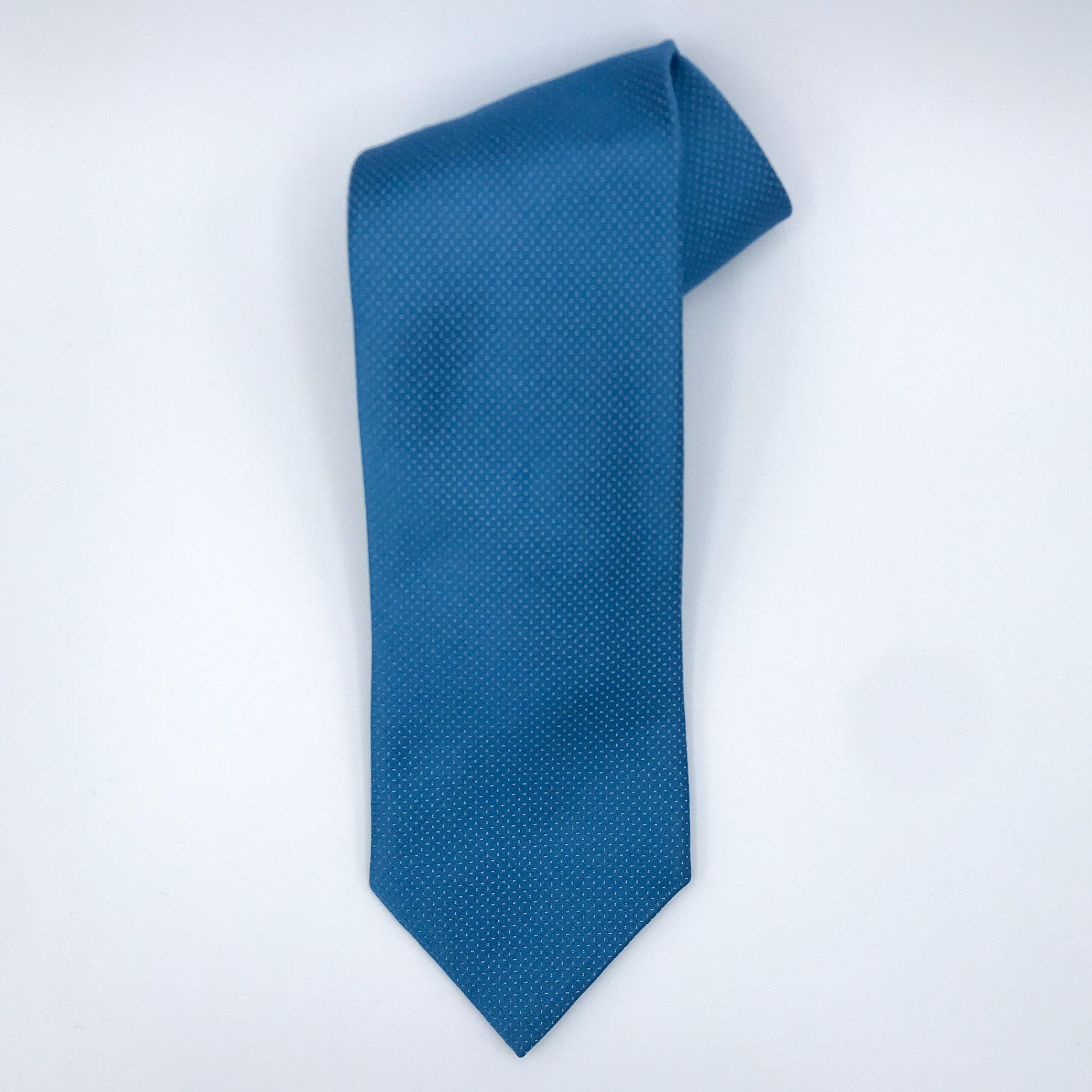 Blue Ermenegildo Zegna Tie
