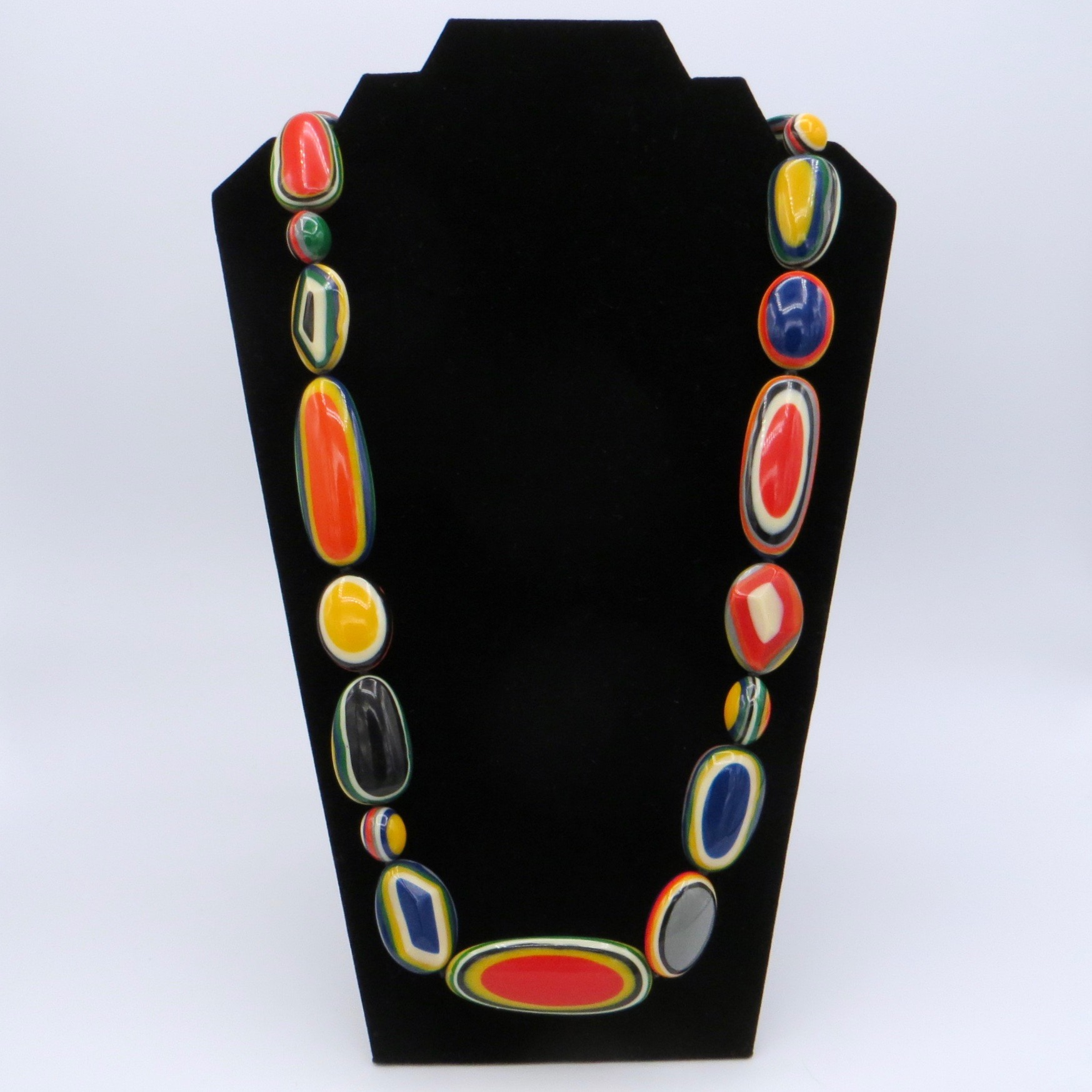 Marion Godart Layered Resin Necklace - Bold