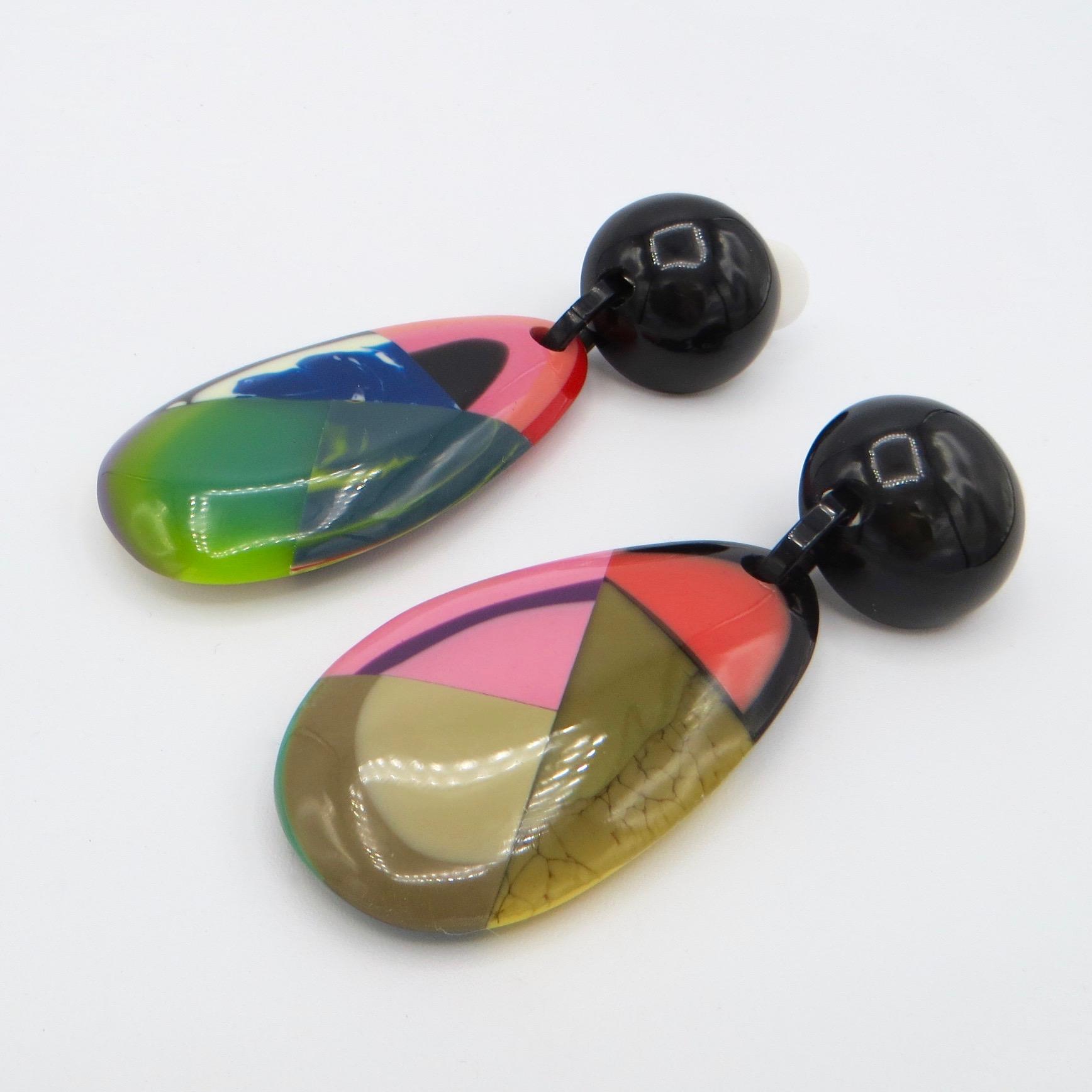 Marion Godart Clip-On Drop Earrings